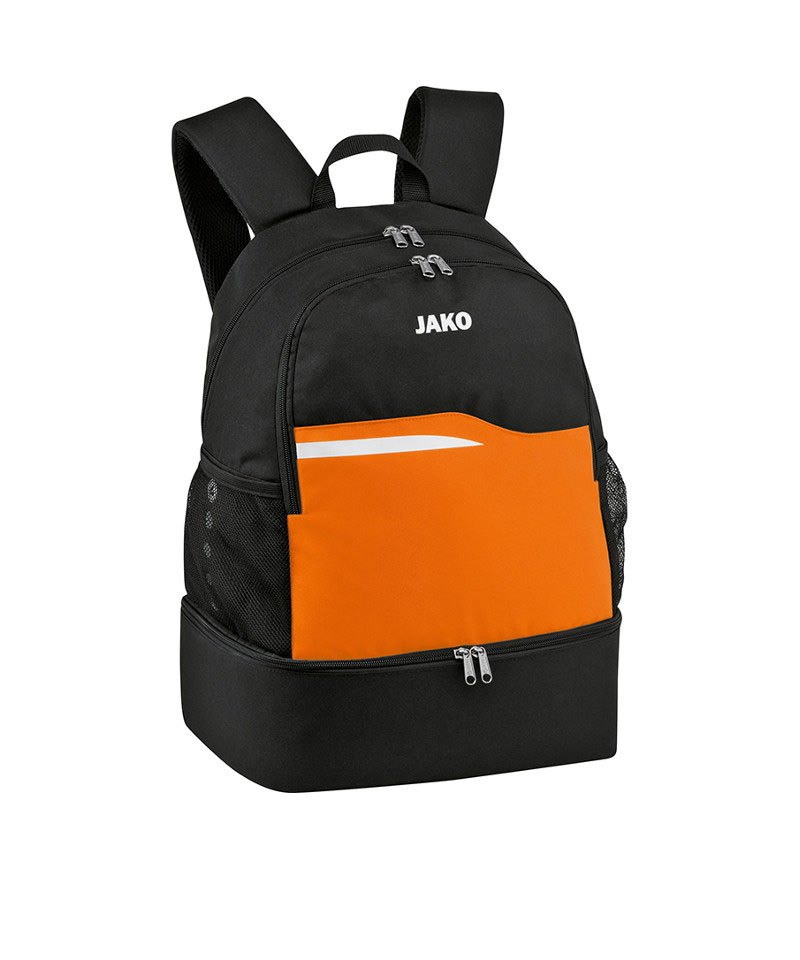 Jako Competition 2.0 Rucksack Schwarz Orange F19 - schwarz