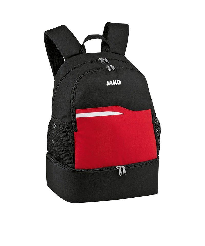 Jako Competition 2.0 Rucksack Schwarz Rot F01 - schwarz