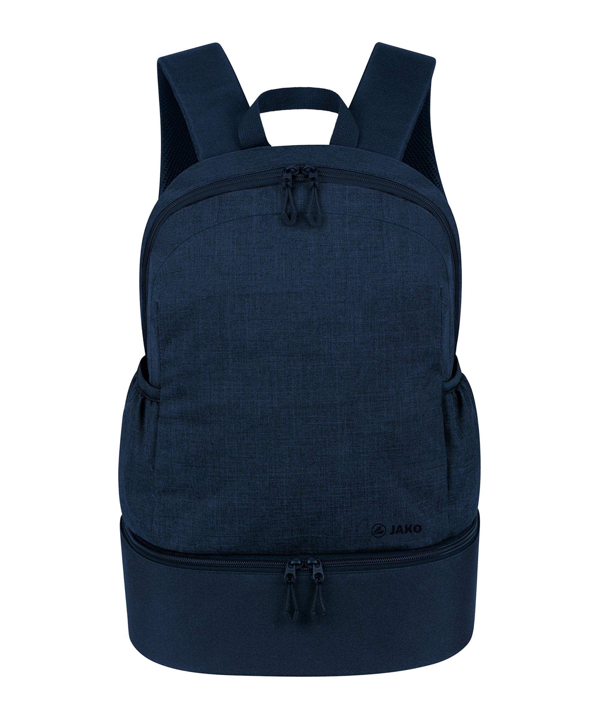 JAKO Challenge Rucksack mit Bodenfach Blau F510 - blau