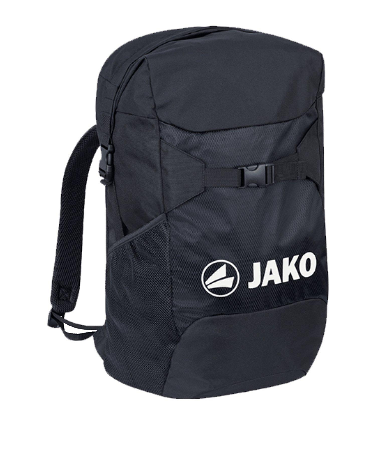 JAKO City Rucksack Schwarz F08 - schwarz