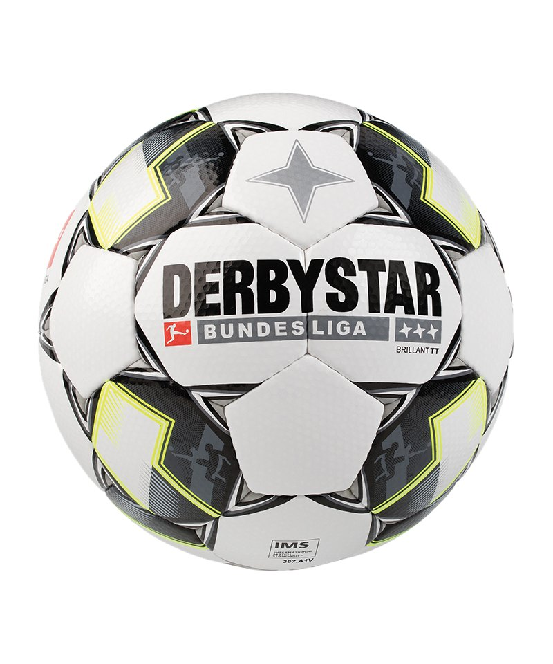 Derbystar Bundesliga Brillant TT Weiss F125 - weiss