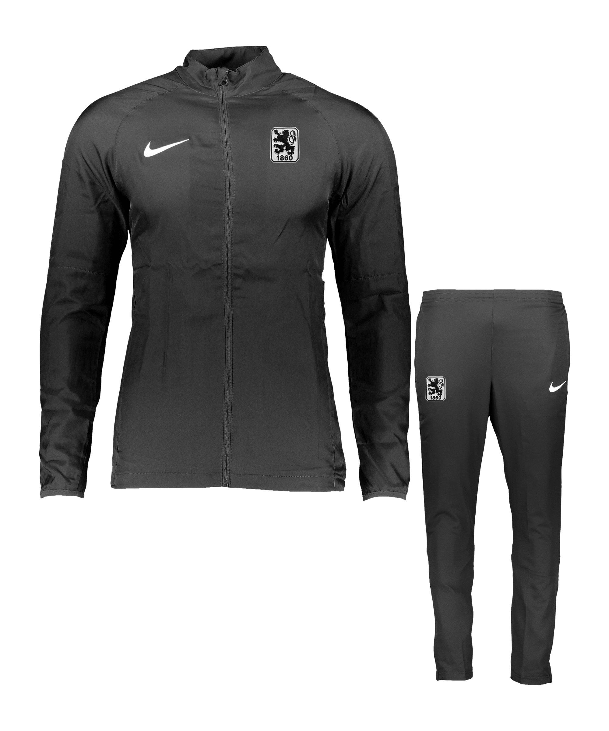 Nike TSV 1860 München Präsentationsanzug Schwarz F010 - schwarz