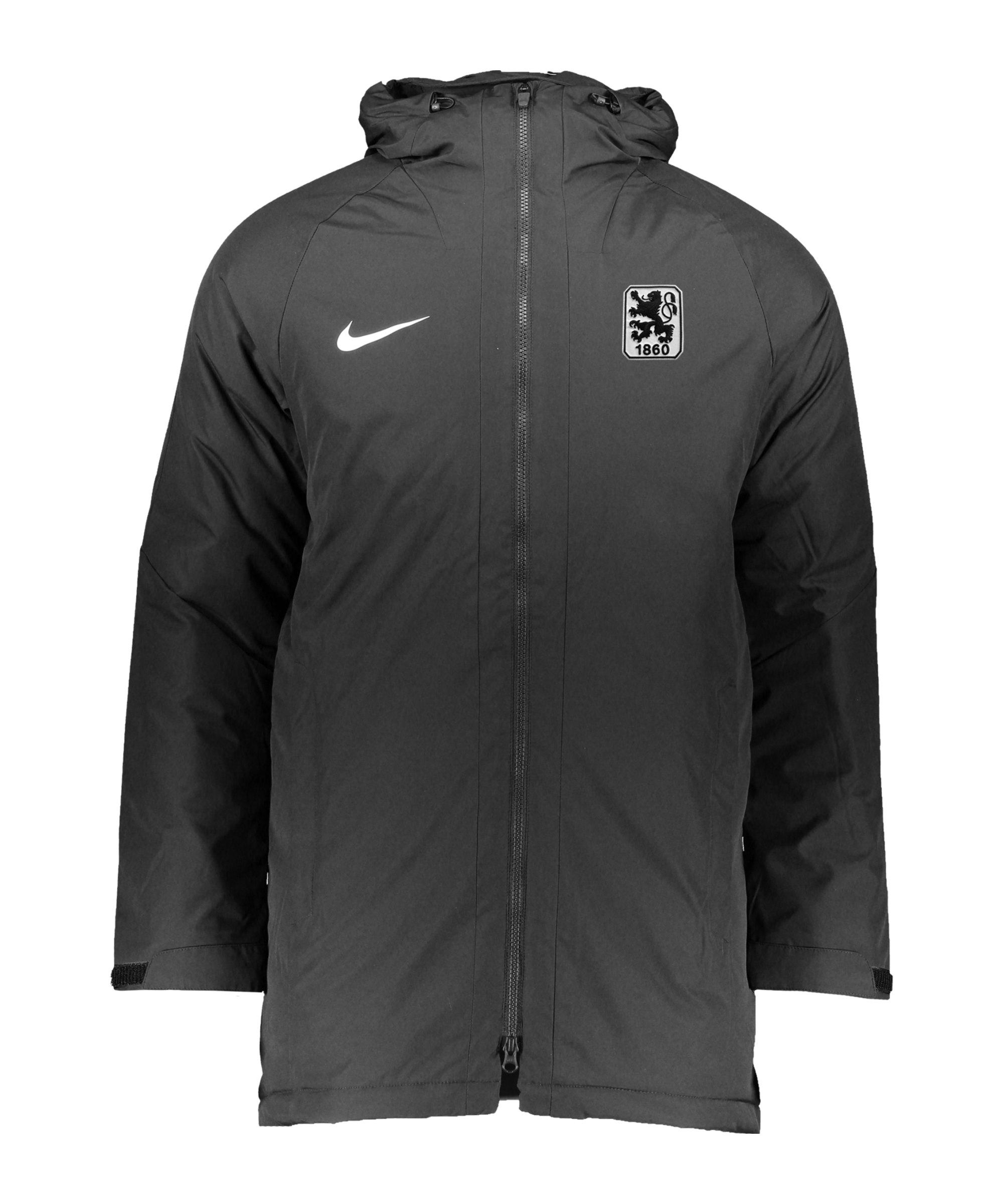 Nike TSV 1860 München Stadionjacke Schwarz F010 - schwarz
