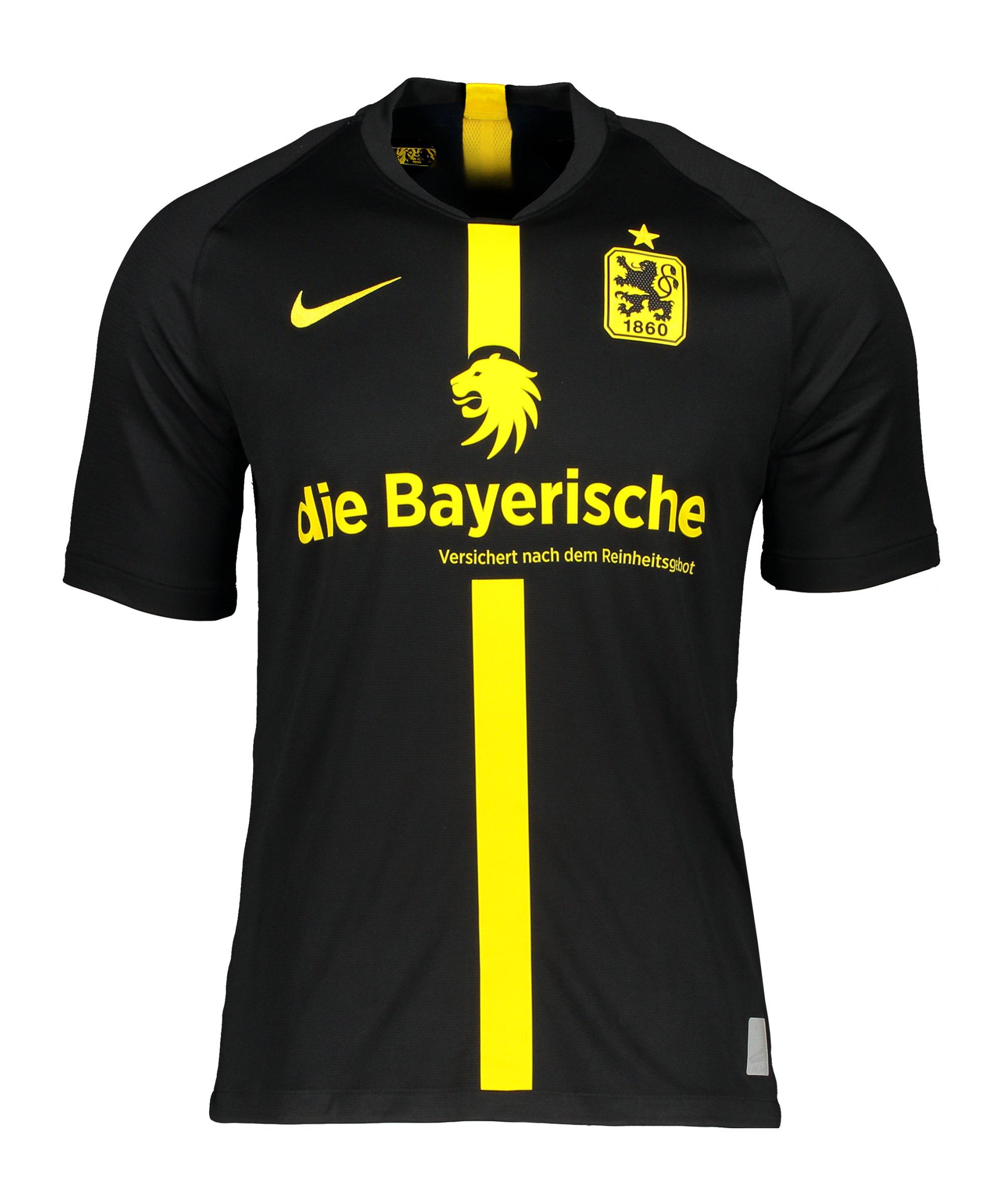 Nike TSV 1860 München Trikot Away 2020/2021 Schwarz F013 - schwarz