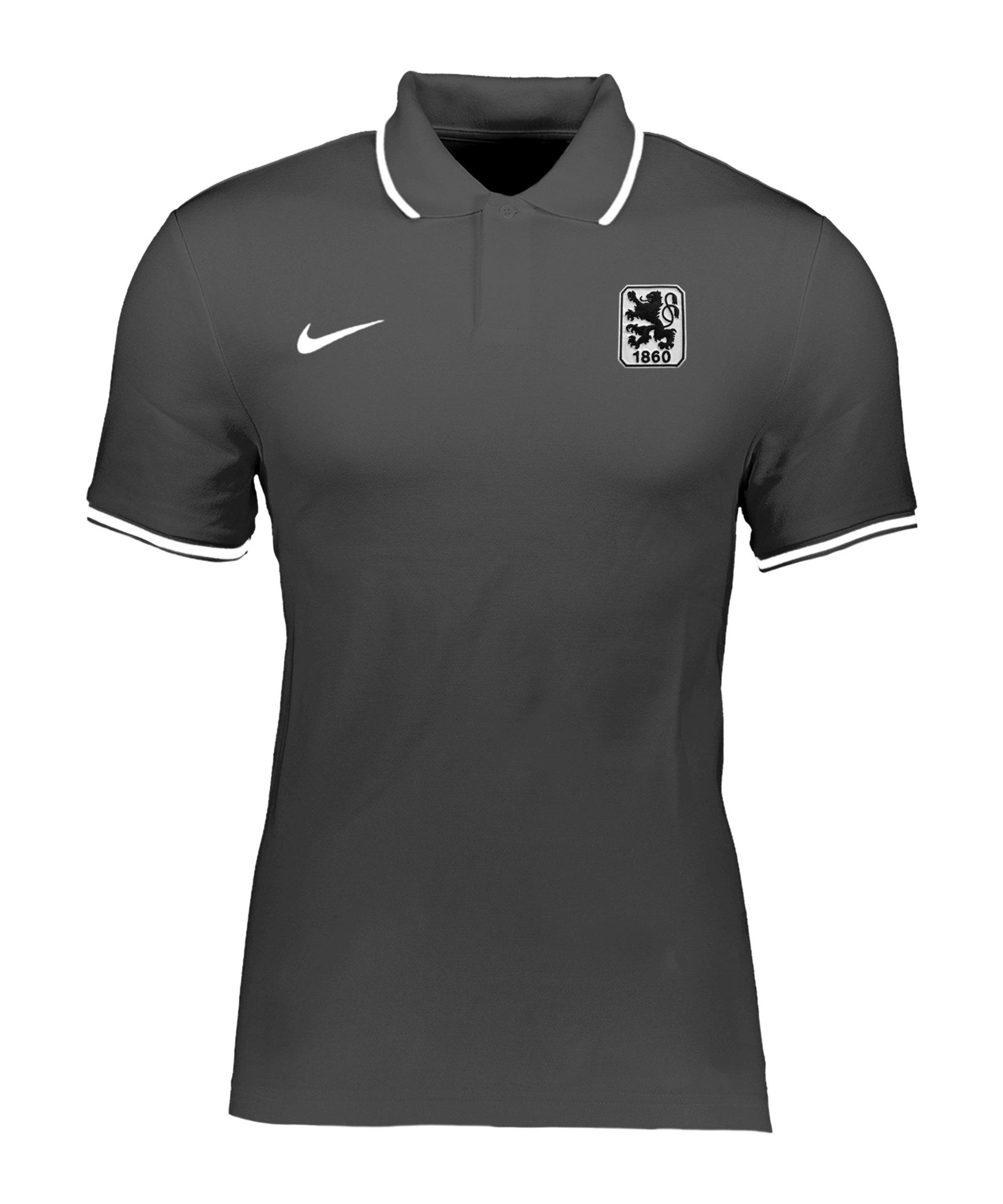 Nike TSV 1860 München Poloshirt Grau F071 - grau
