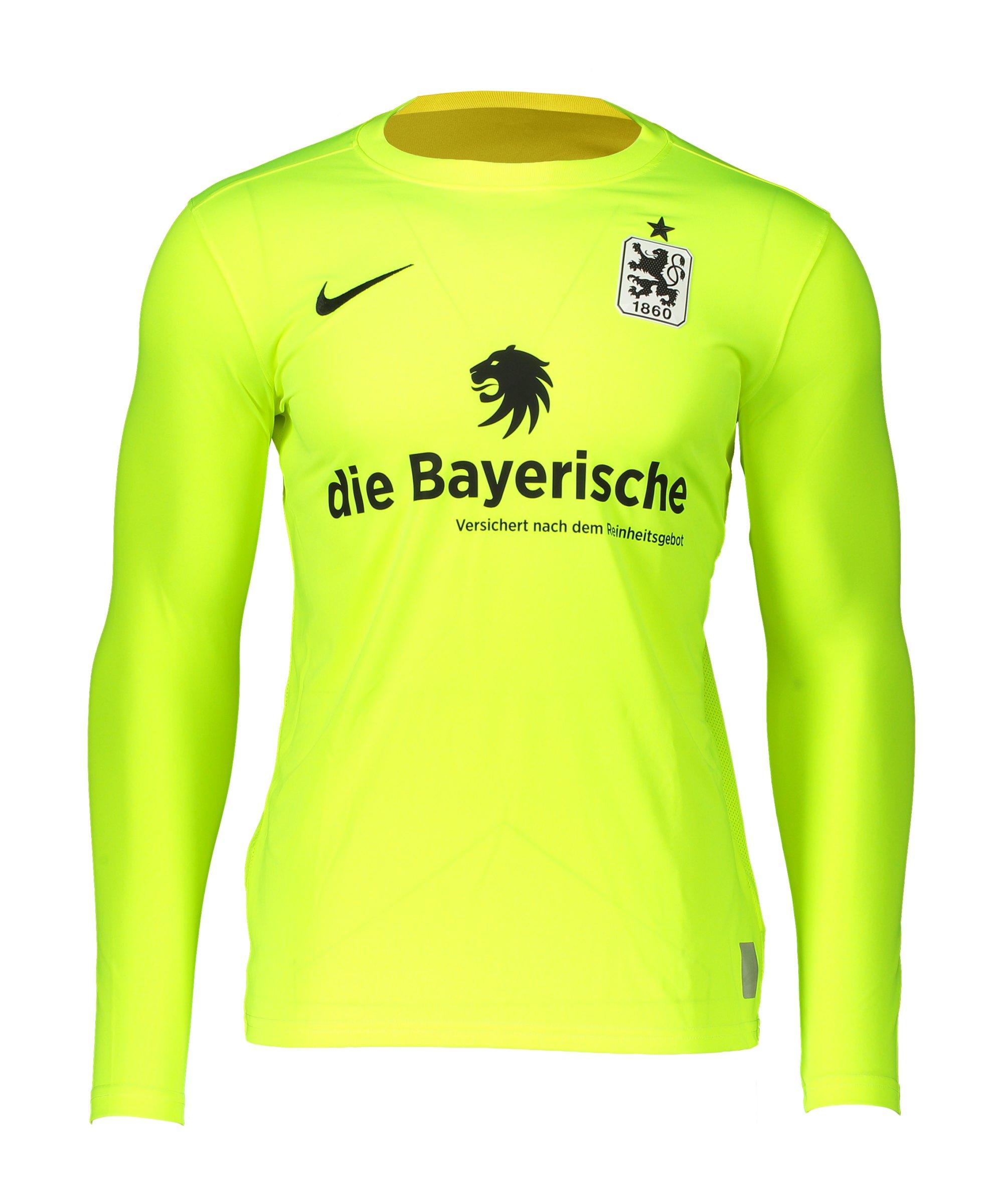 Nike TSV 1860 München Torwarttrikot 2020/2021 Kids Türkis F702 - gelb