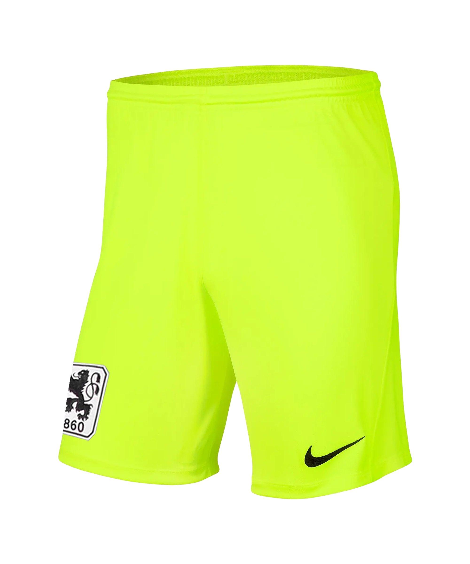 Nike TSV 1860 München Torwartshort 2020/2021 Kids Gelb F702 - gelb