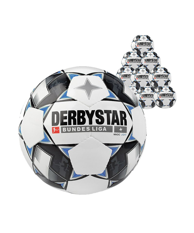 Derbystar Bundesliga Magic 50xLightball 350 Gramm F126 - weiss