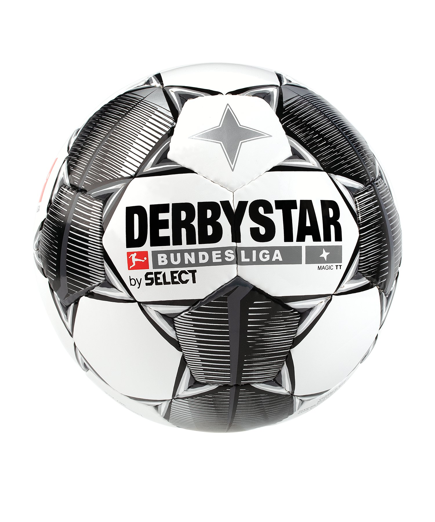 Derbystar Bundesliga Magic TT Trainingsball Weiss F19 - weiss