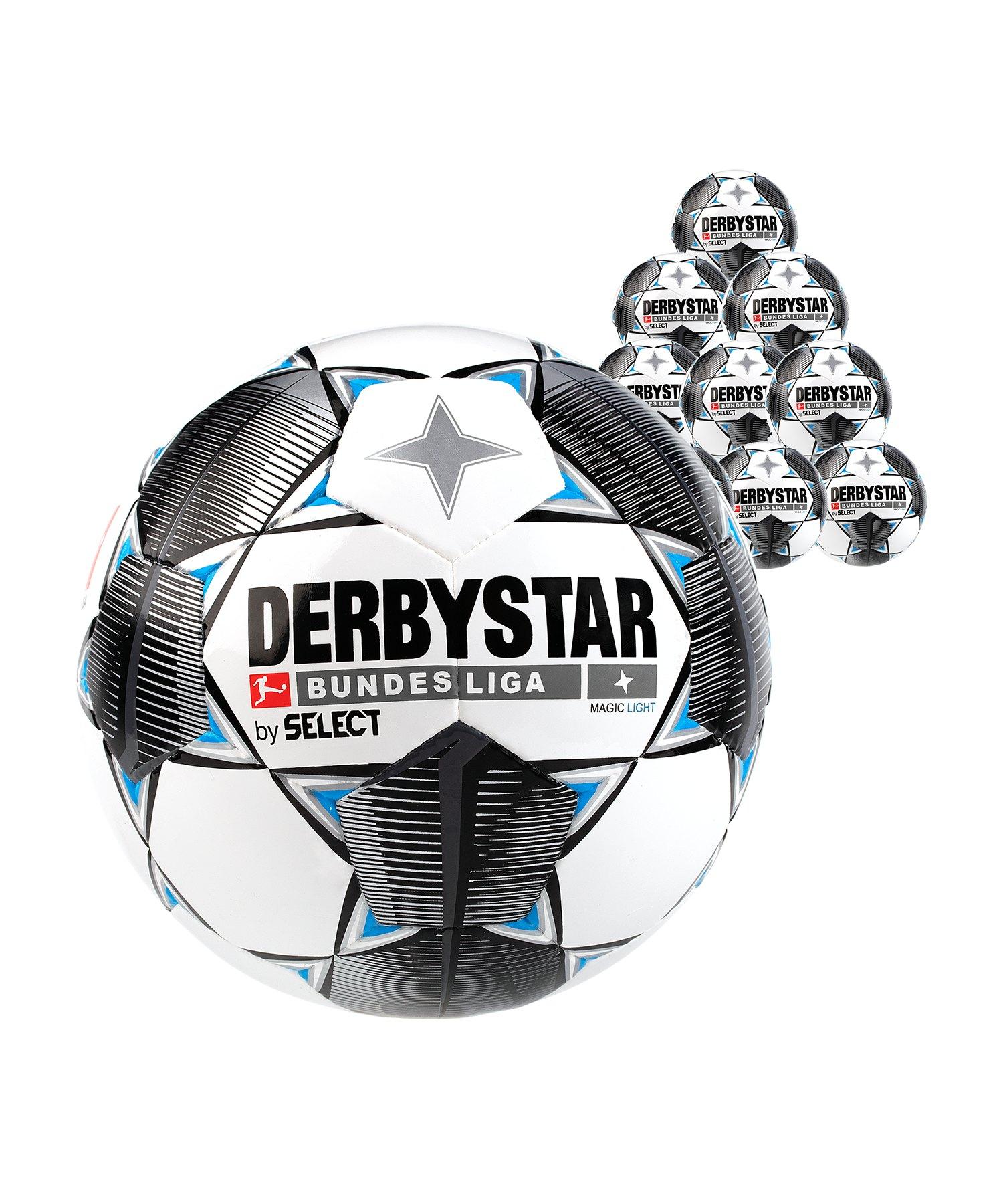 Derbystar Buli Magic Light 350g 10x Gr.4 Weiss F019 - weiss
