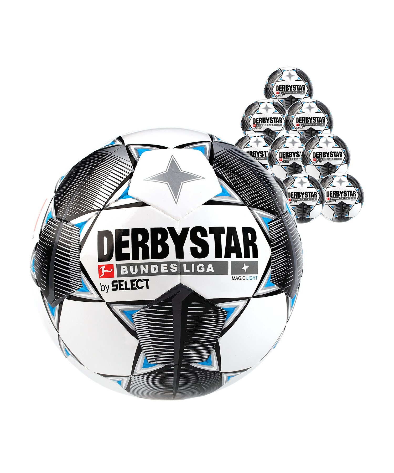Derbystar Buli Magic Light 350g 10x Gr.5 Weiss F019 - weiss
