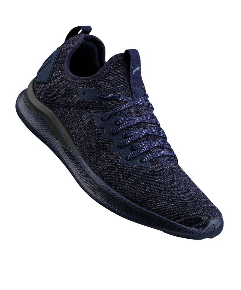 PUMA Ignite Flash evoKNIT Sneaker Blau F06 - blau