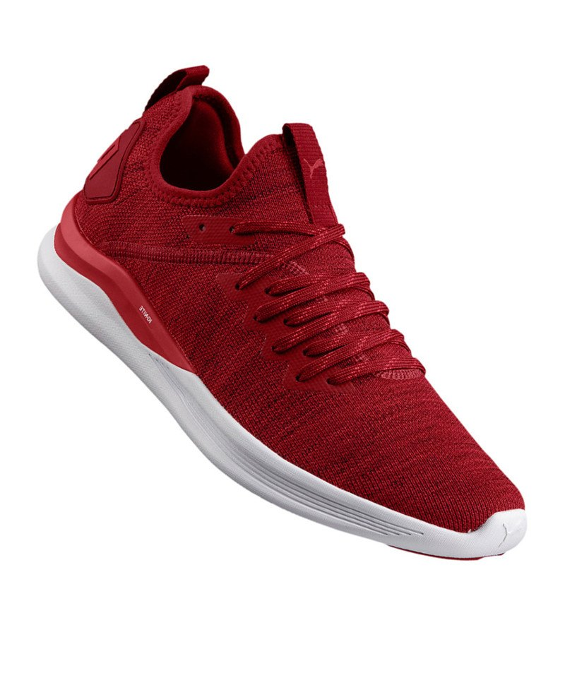 PUMA Ignite Flash evoKNIT Sneaker Rot F01 - rot