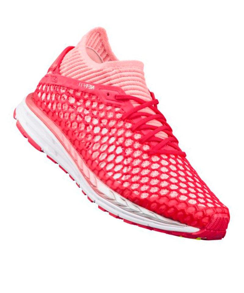 PUMA Speed Ignite Netfit 2 Running Damen Pink F01 - pink
