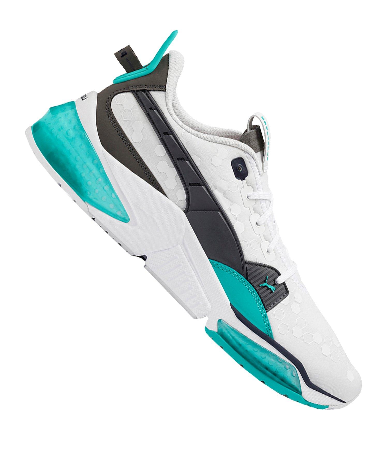 PUMA LQDCELL Optic Sneaker Weiss Blau F03 - Weiss