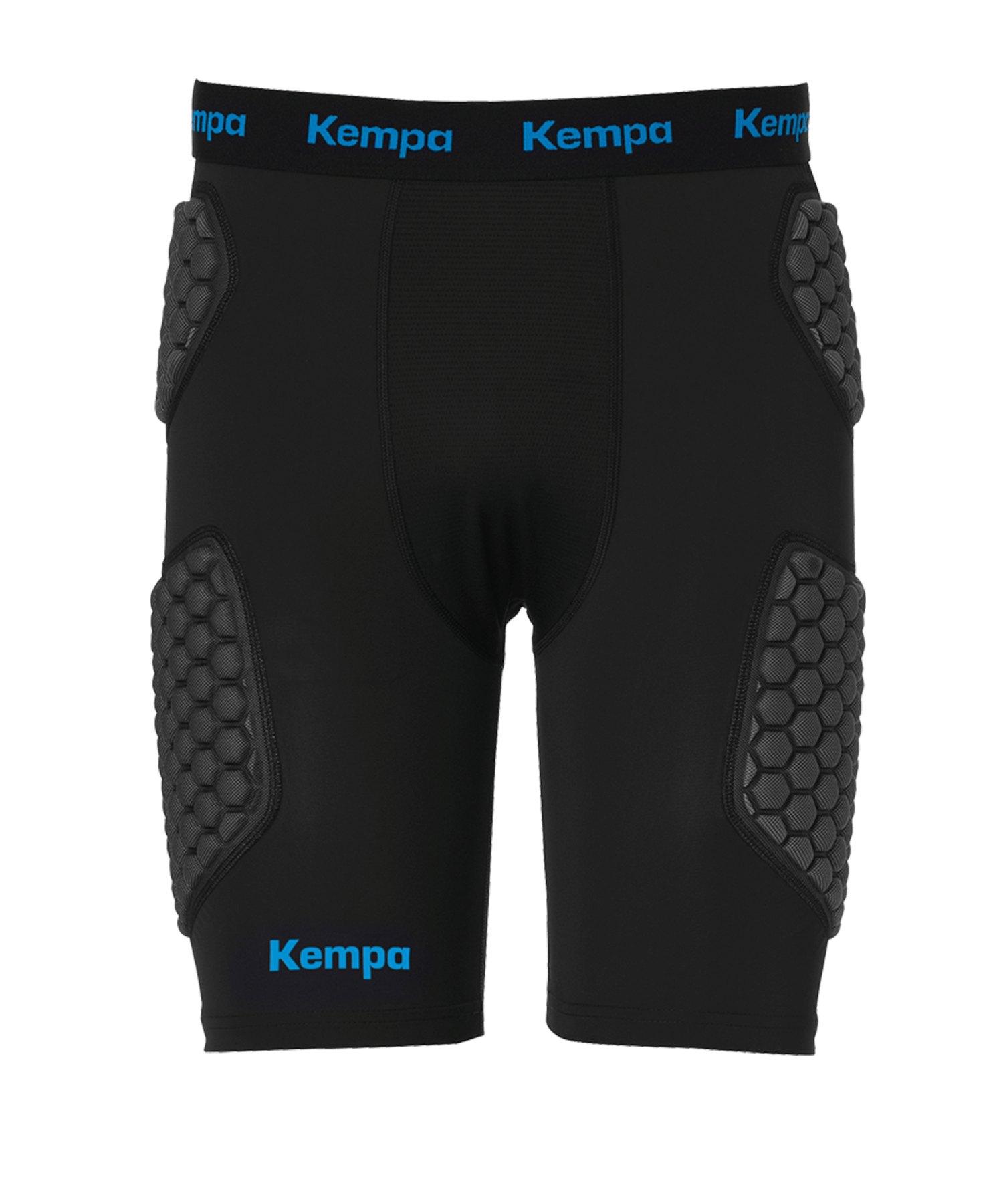 Kempa Protection Torwartshort Schwarz F01 - schwarz