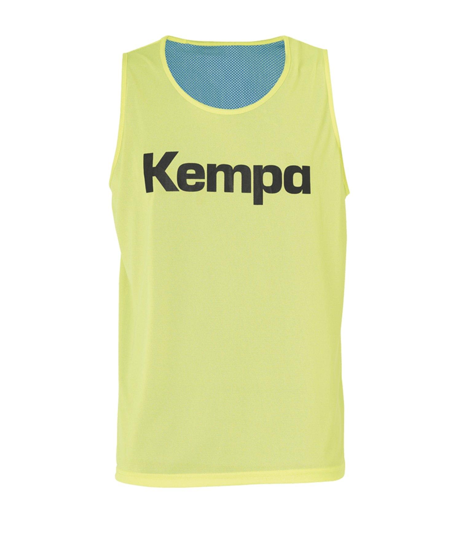 Kempa Wende Markierungshemd Gelb Blau F02 - gelb