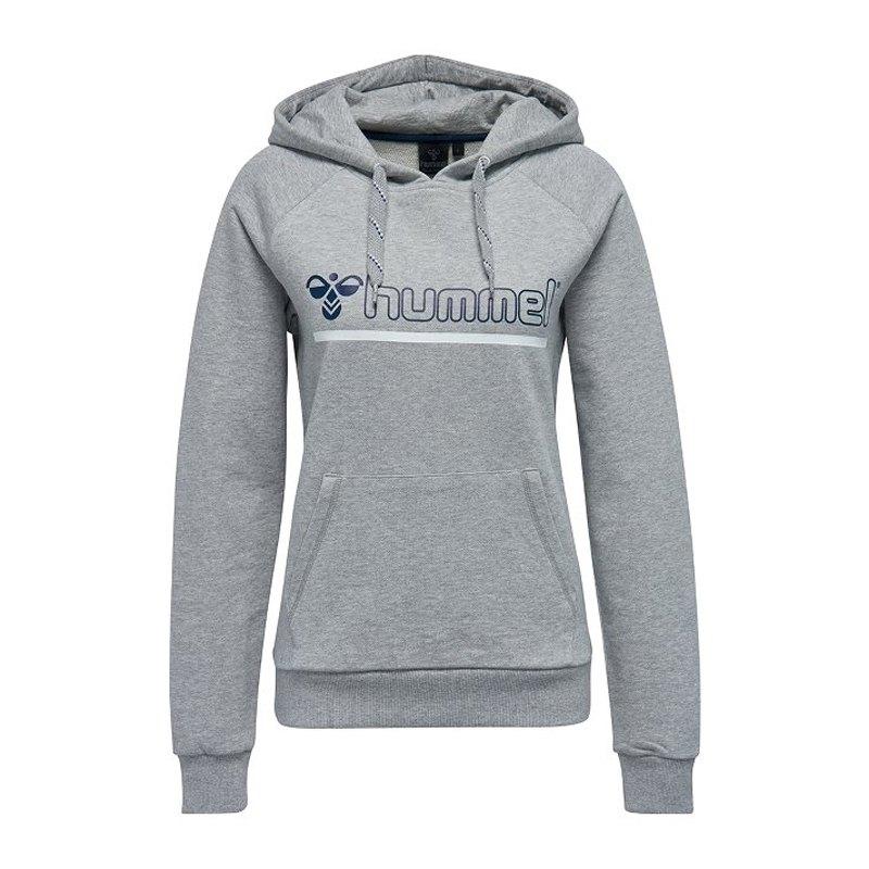 Hummel Leisurely Hoody Kapuzensweatshirt F2006 - grau