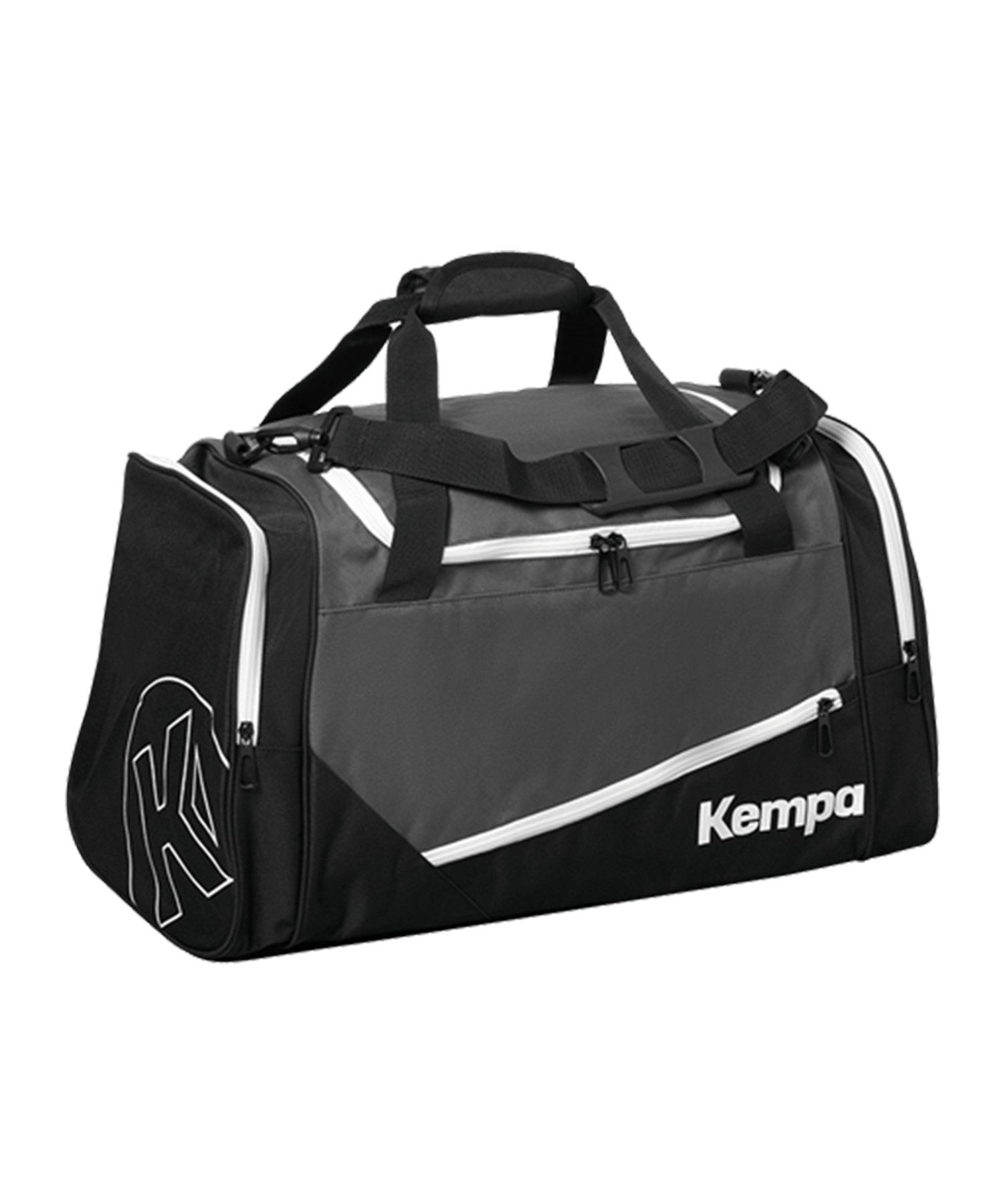 Kempa Sports Bag Sporttasche Medium Schwarz F01 - grau