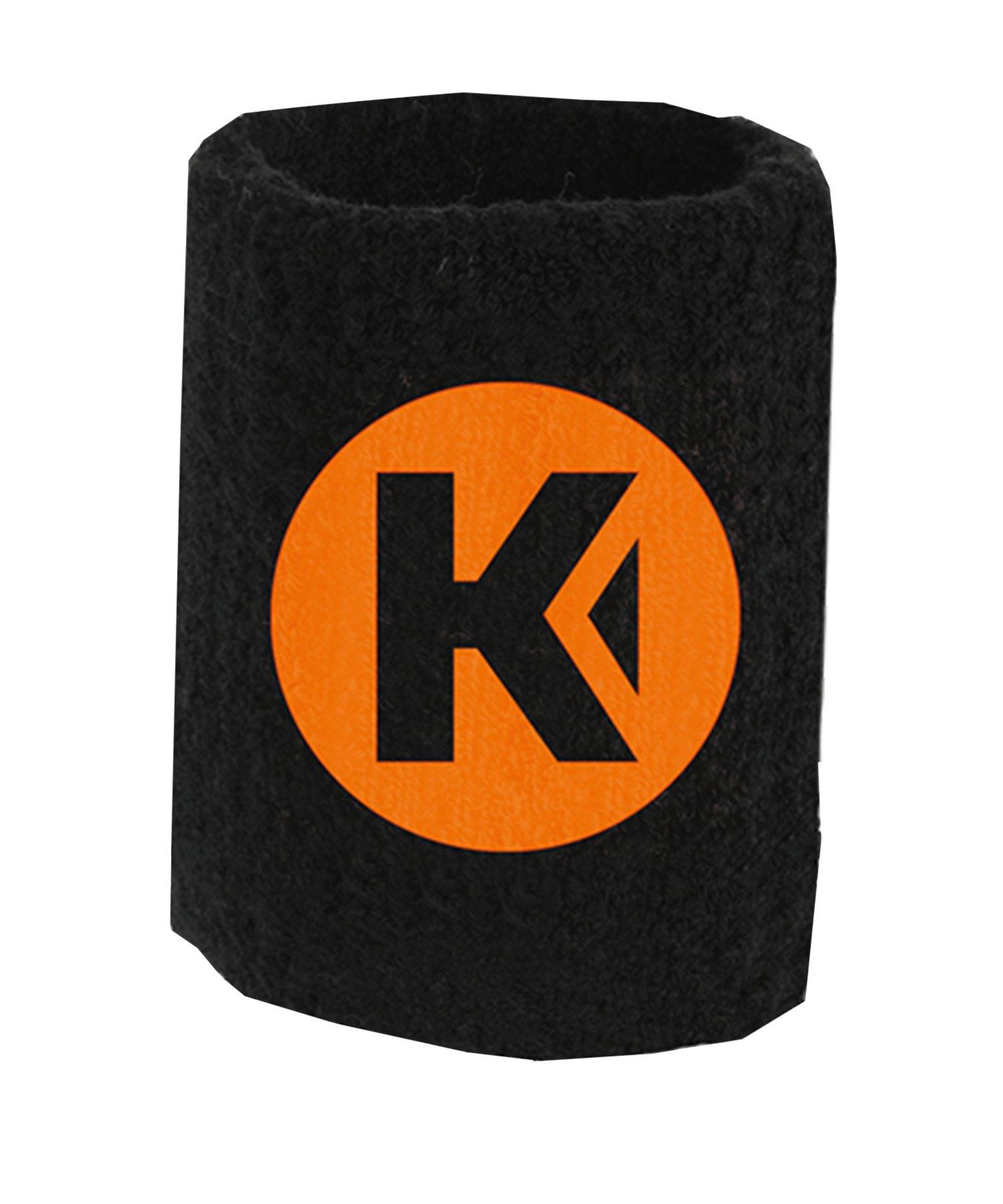 Kempa Laganda Schweißband Schwarz F01 - schwarz