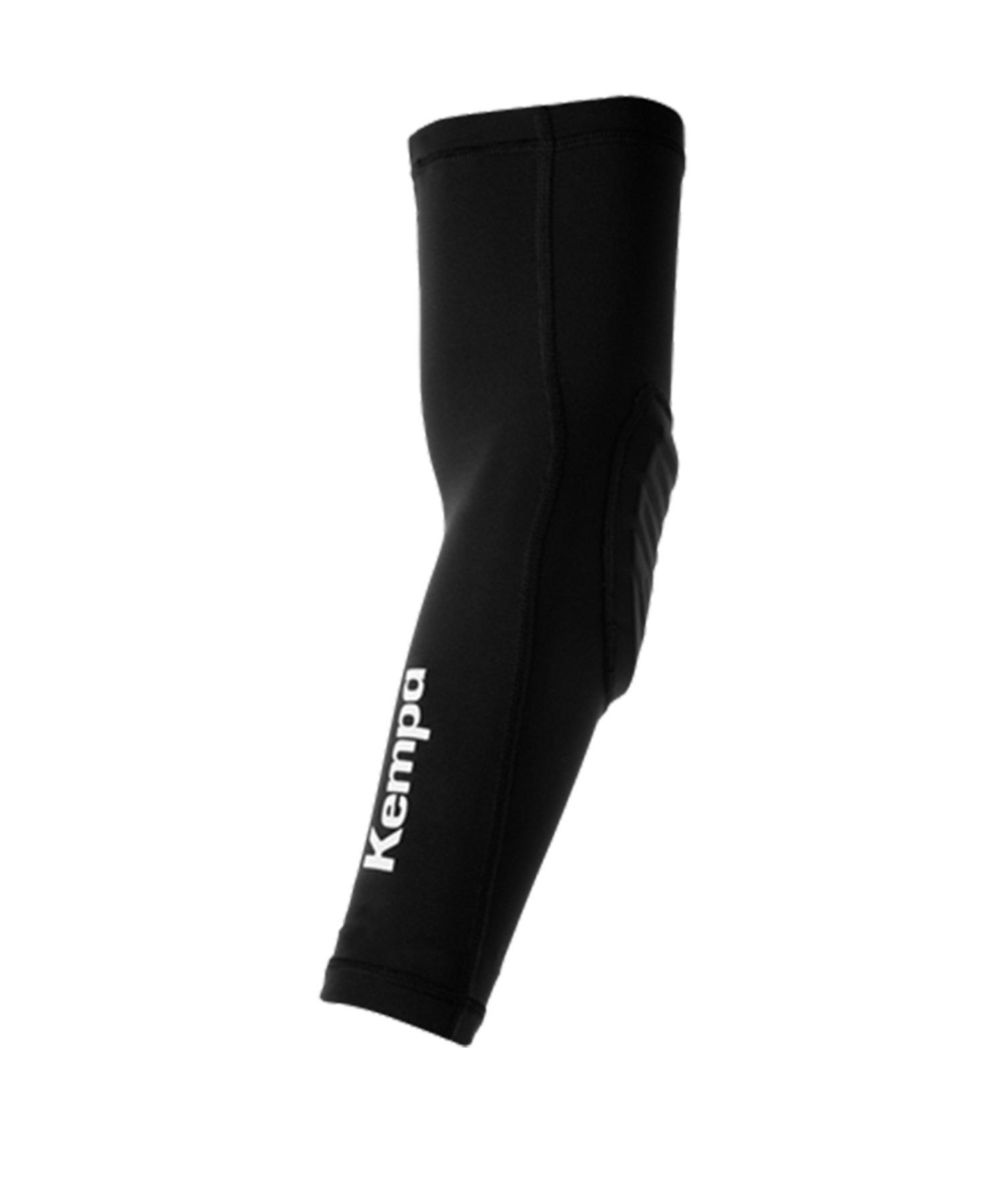Kempa Arm Sleeve Bandage Schwarz Weiss F01 - schwarz
