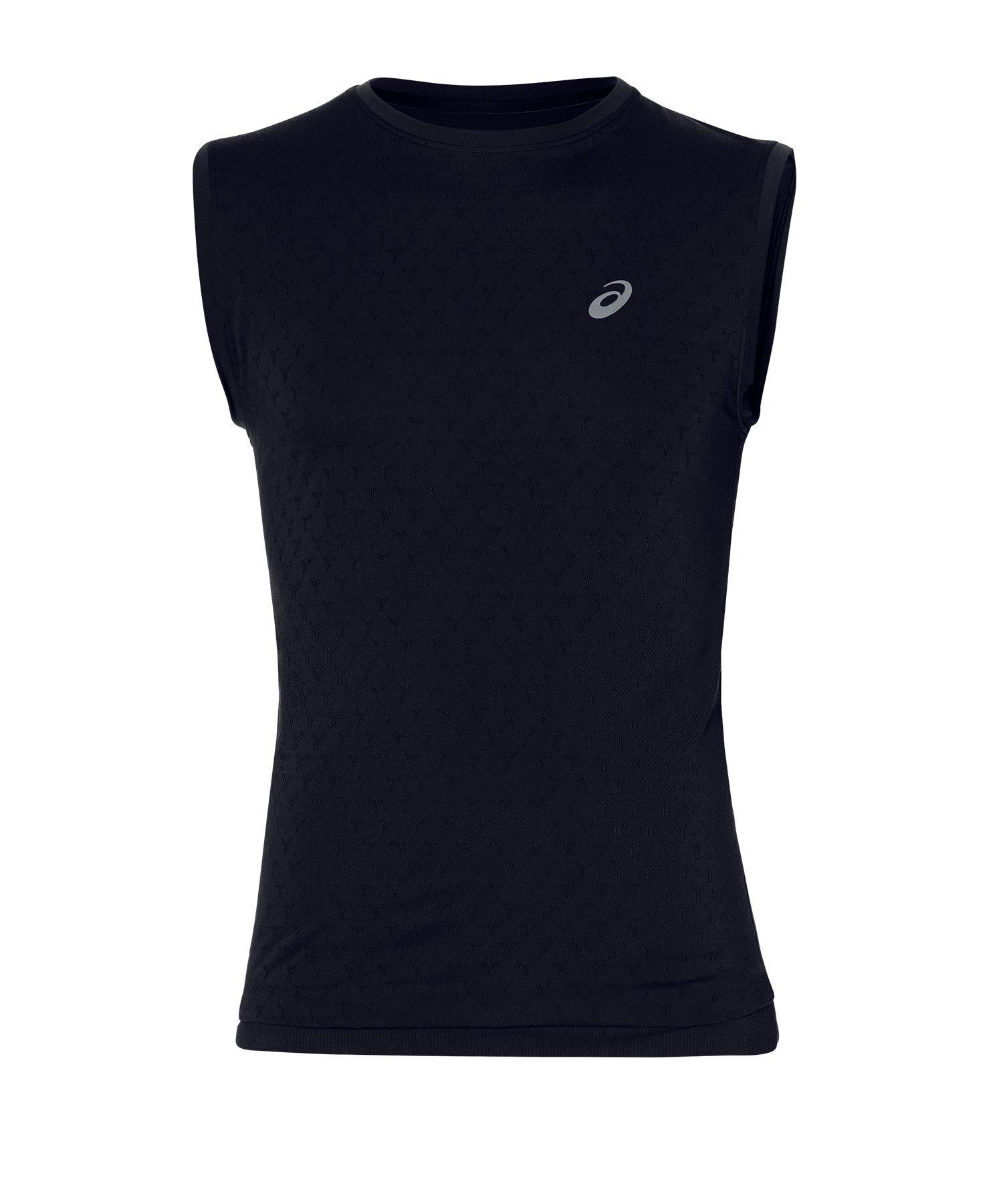 Asics Gel-Cool Top T-Shirt Running Schwarz F001 - schwarz