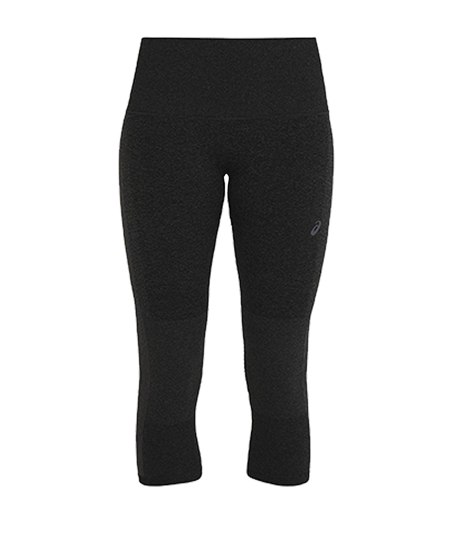Asics Cool Capri Tight Running Damen Schwarz F001 - schwarz