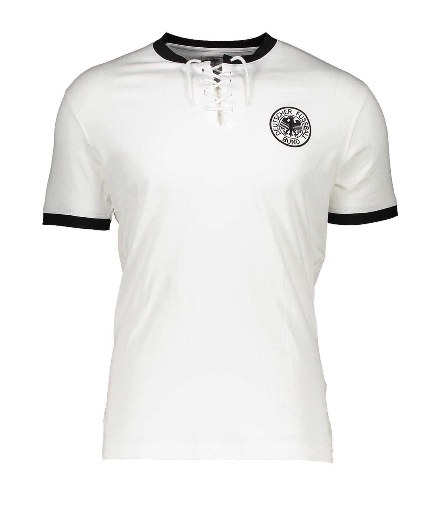 DFB Deutschland Retro 1954 T-Shirt Home Weiss - Weiss