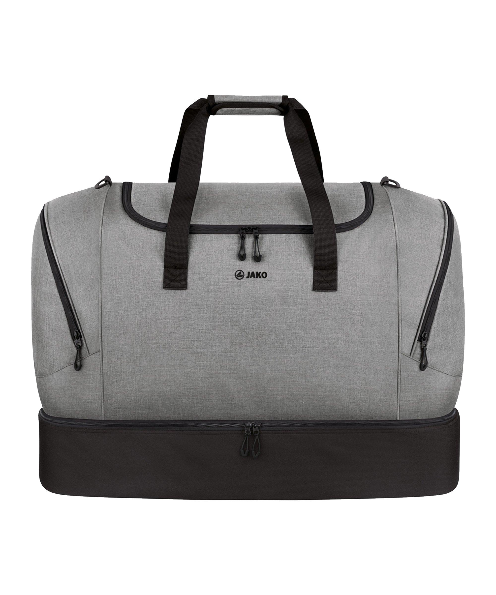 JAKO Challenge Sporttasche mit Bodenfach Gr.M F520 - grau