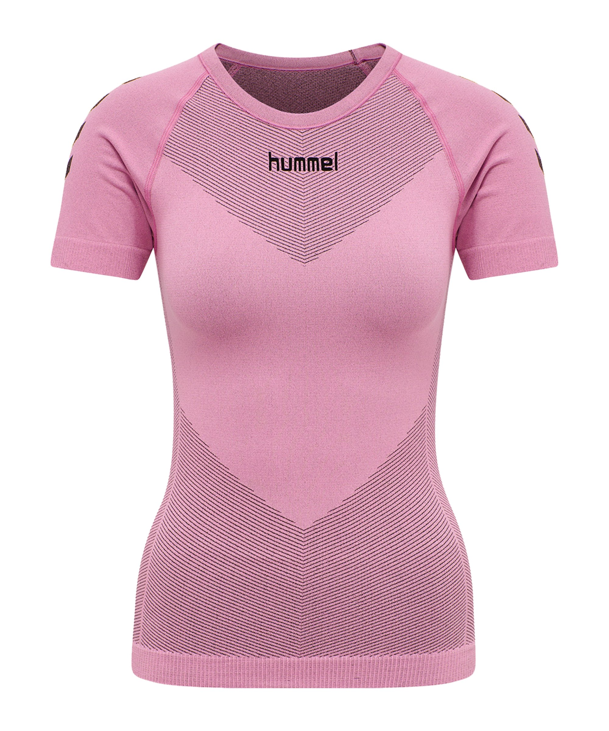 Hummel First Seamless T-Shirt Damen Pink F3257 - pink