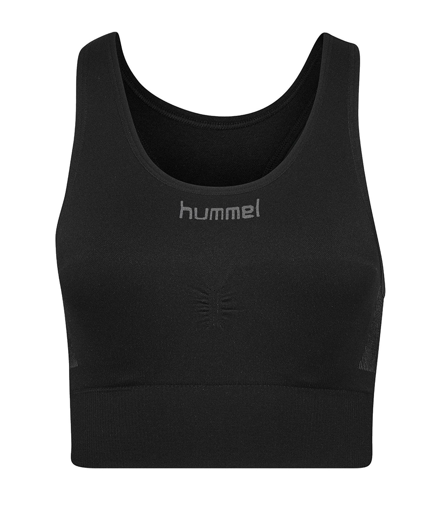 Hummel First Seamless Sport-BH Bra Damen F2001 - Schwarz