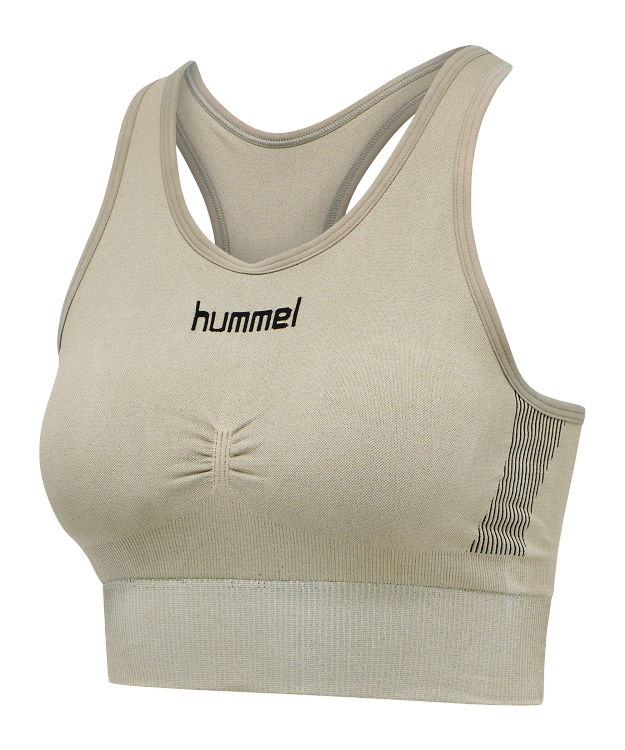 Hummel First Seamless Sport-BH Bra Damen F2931 - gruen