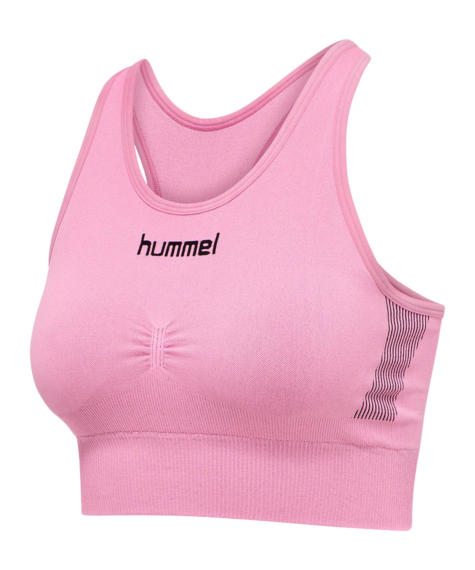 Hummel First Seamless Sport-BH Bra Damen F3257 - pink