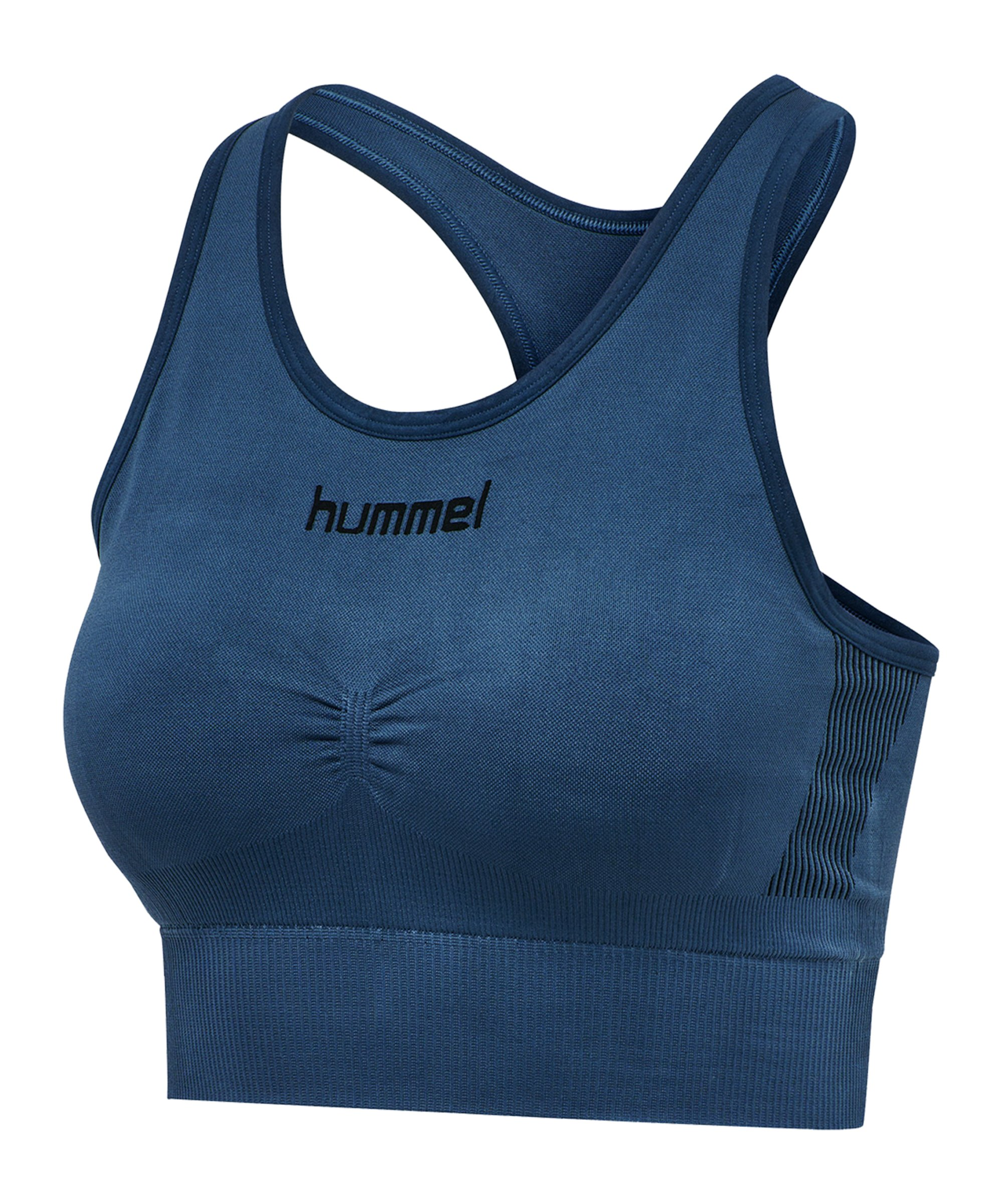Hummel First Seamless Sport-BH Bra Damen F7642 - blau