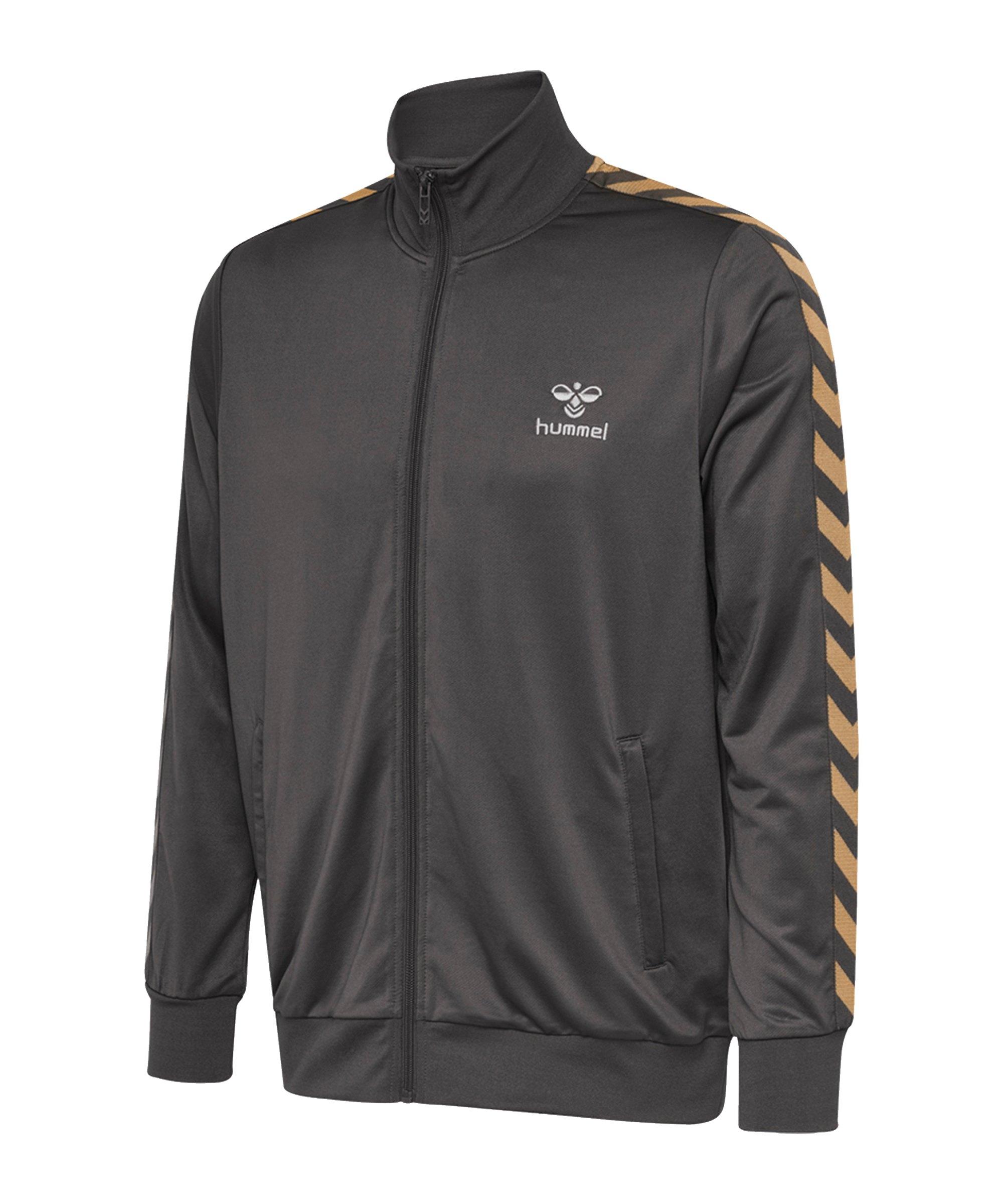 Hummel Nathan Zip Trainingsjacke Grau F1025 - grau