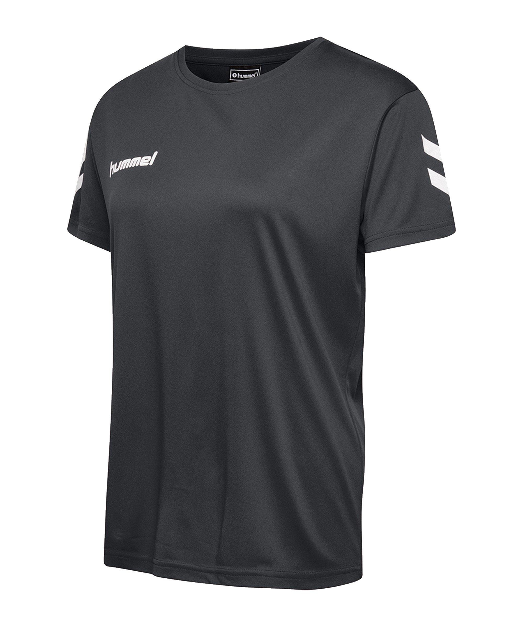 Hummel Core Poly Tee T-Shirt Damen F1525 - schwarz