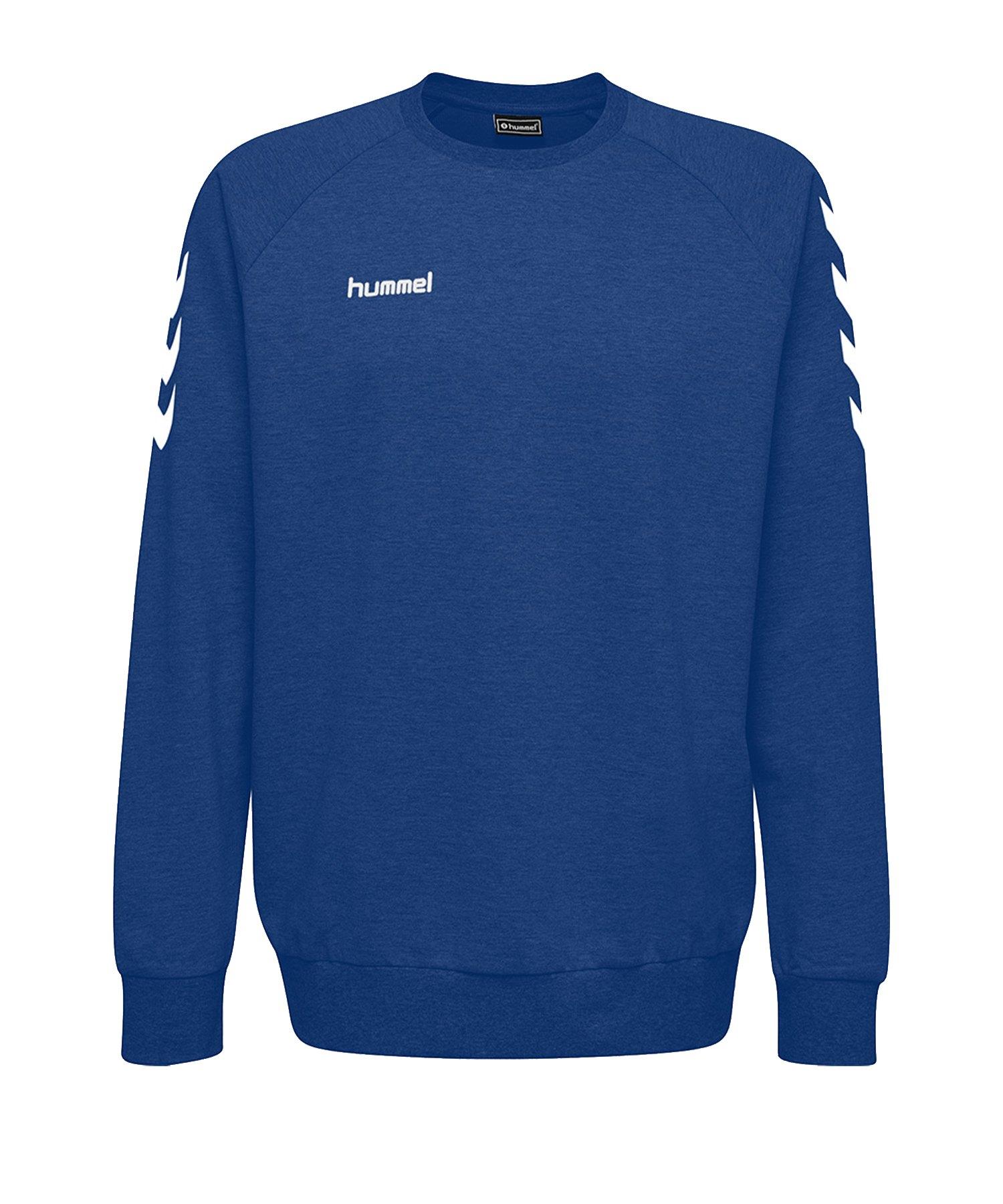 Hummel Cotton Sweatshirt Blau F7045 - Blau