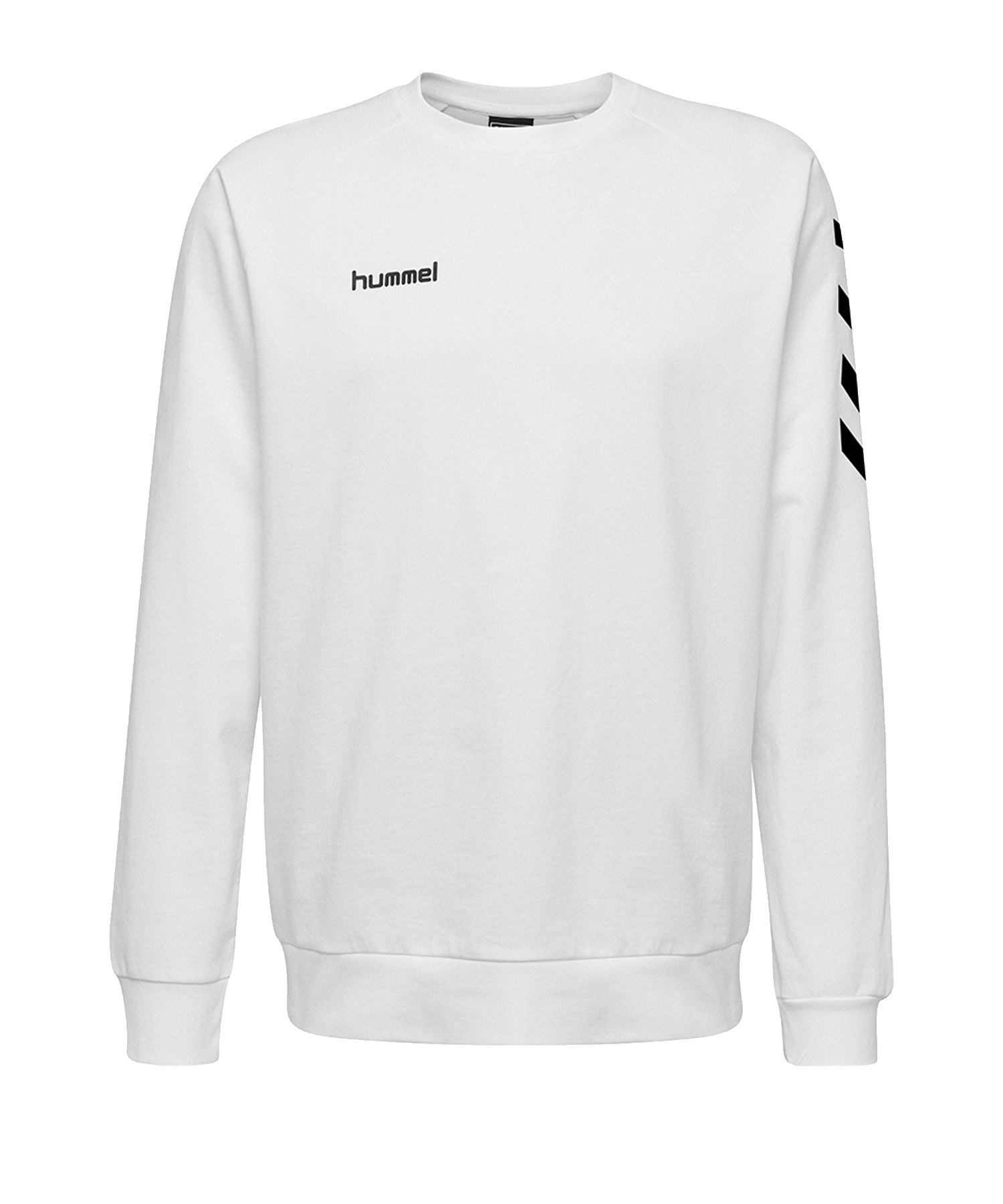 Hummel Cotton Sweatshirt Weiss F9001 - Weiss