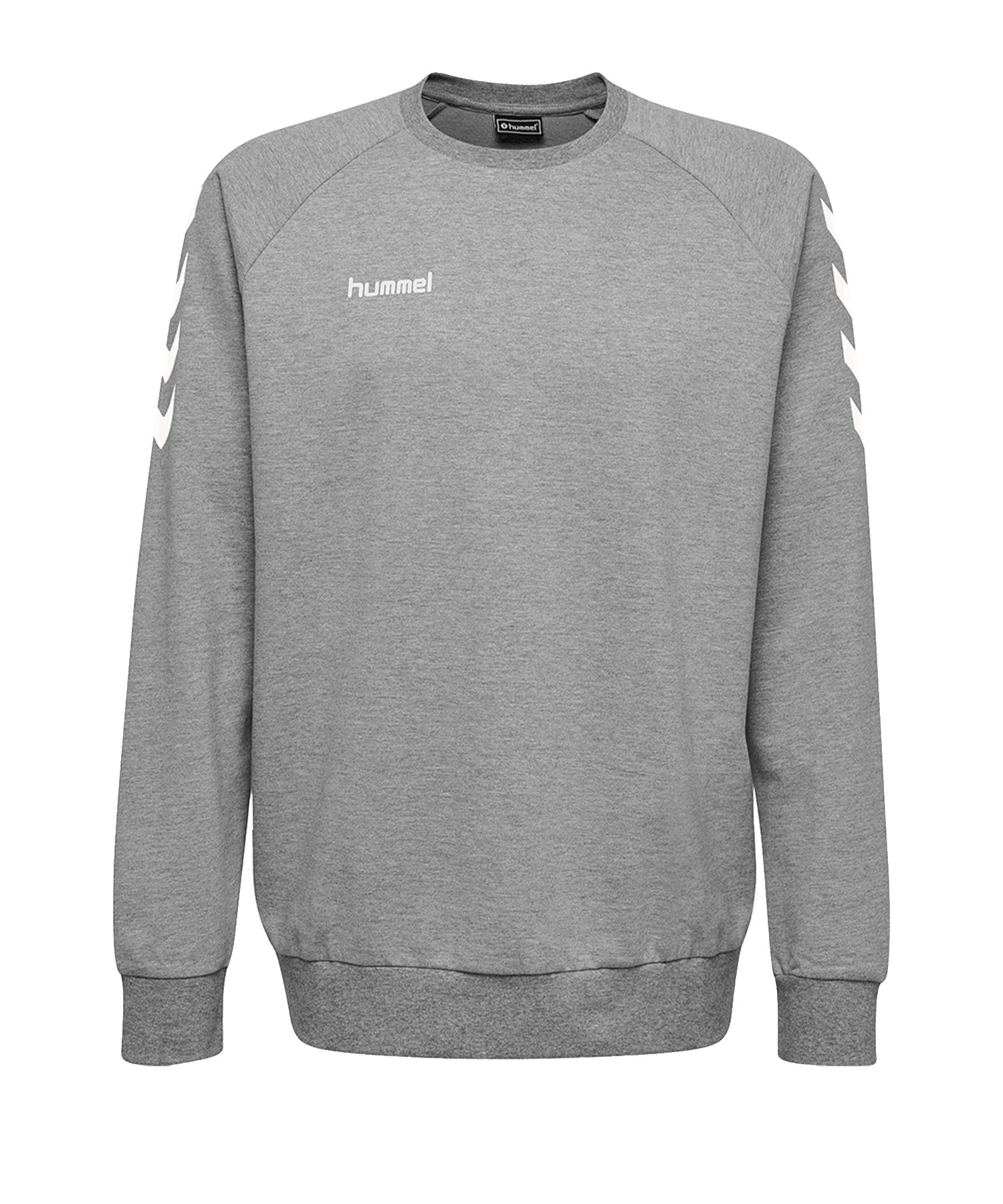Hummel Cotton Sweatshirt Kids Grau F2006 - Grau