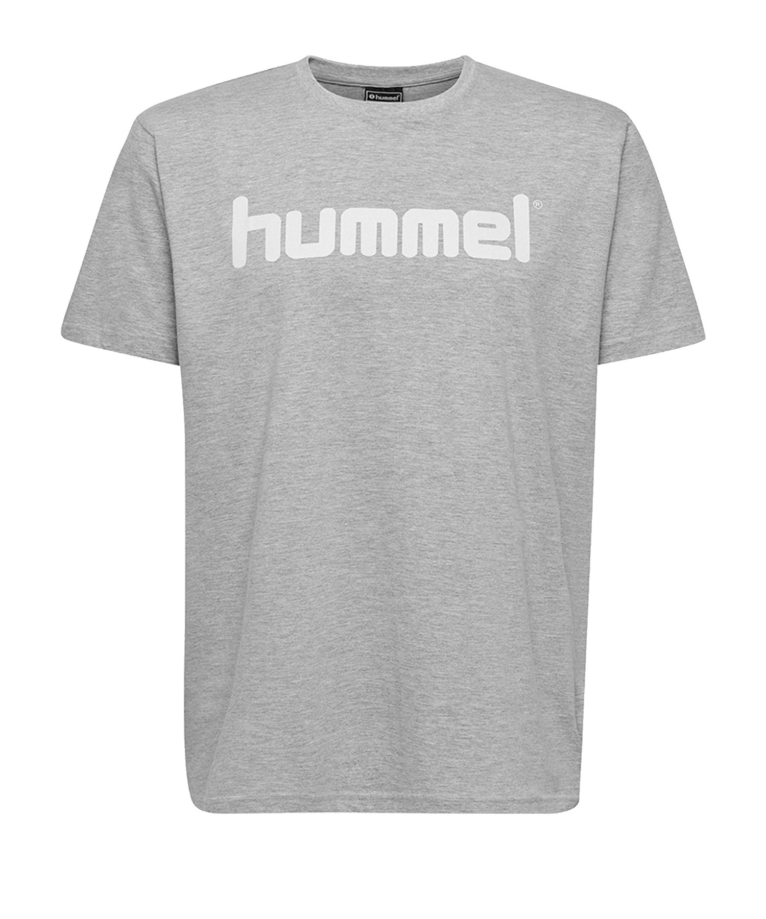 Hummel Cotton T-Shirt Logo Grau F2006 - Grau