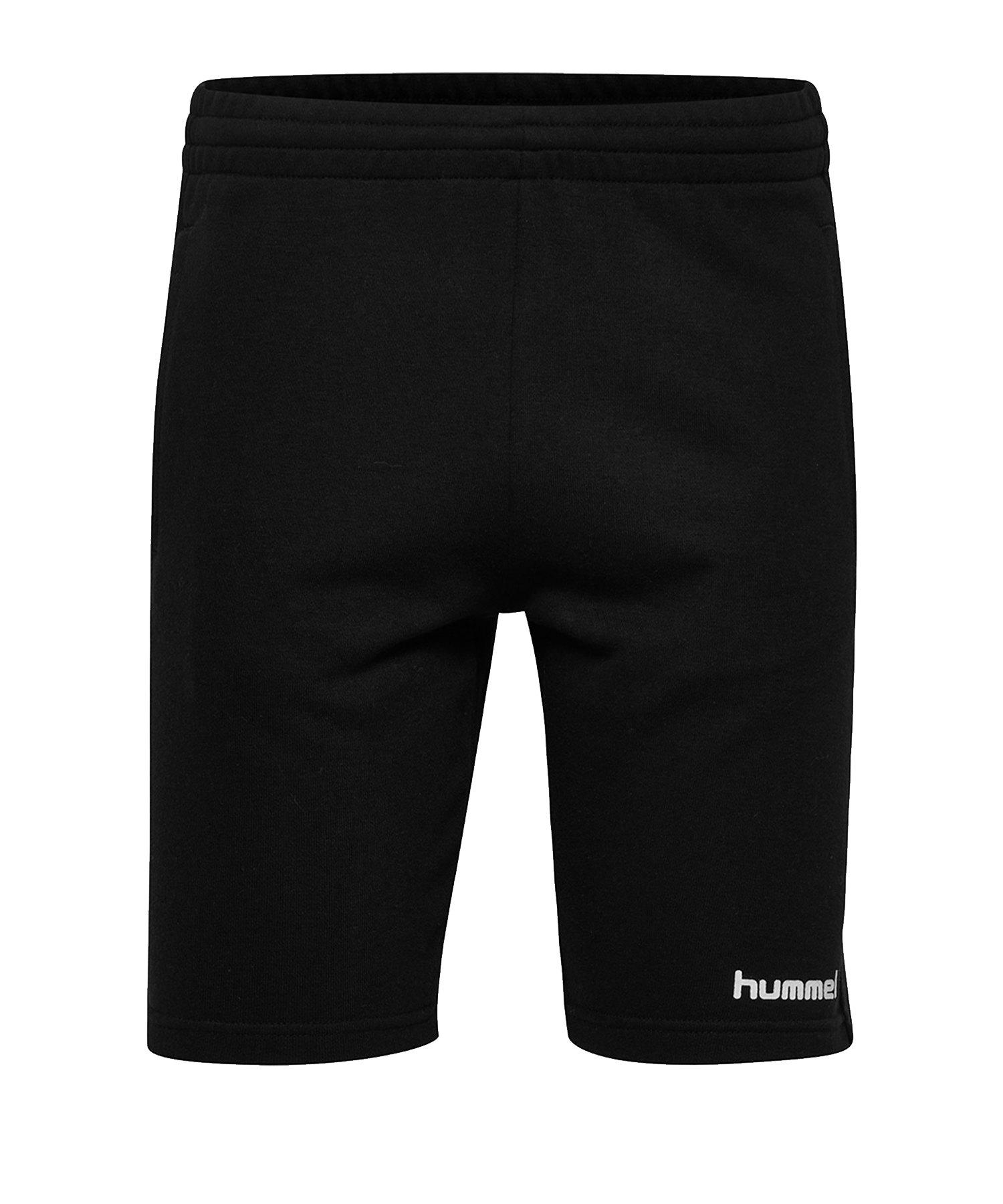 Hummel Cotton Bermuda Short Damen F2001 - Schwarz