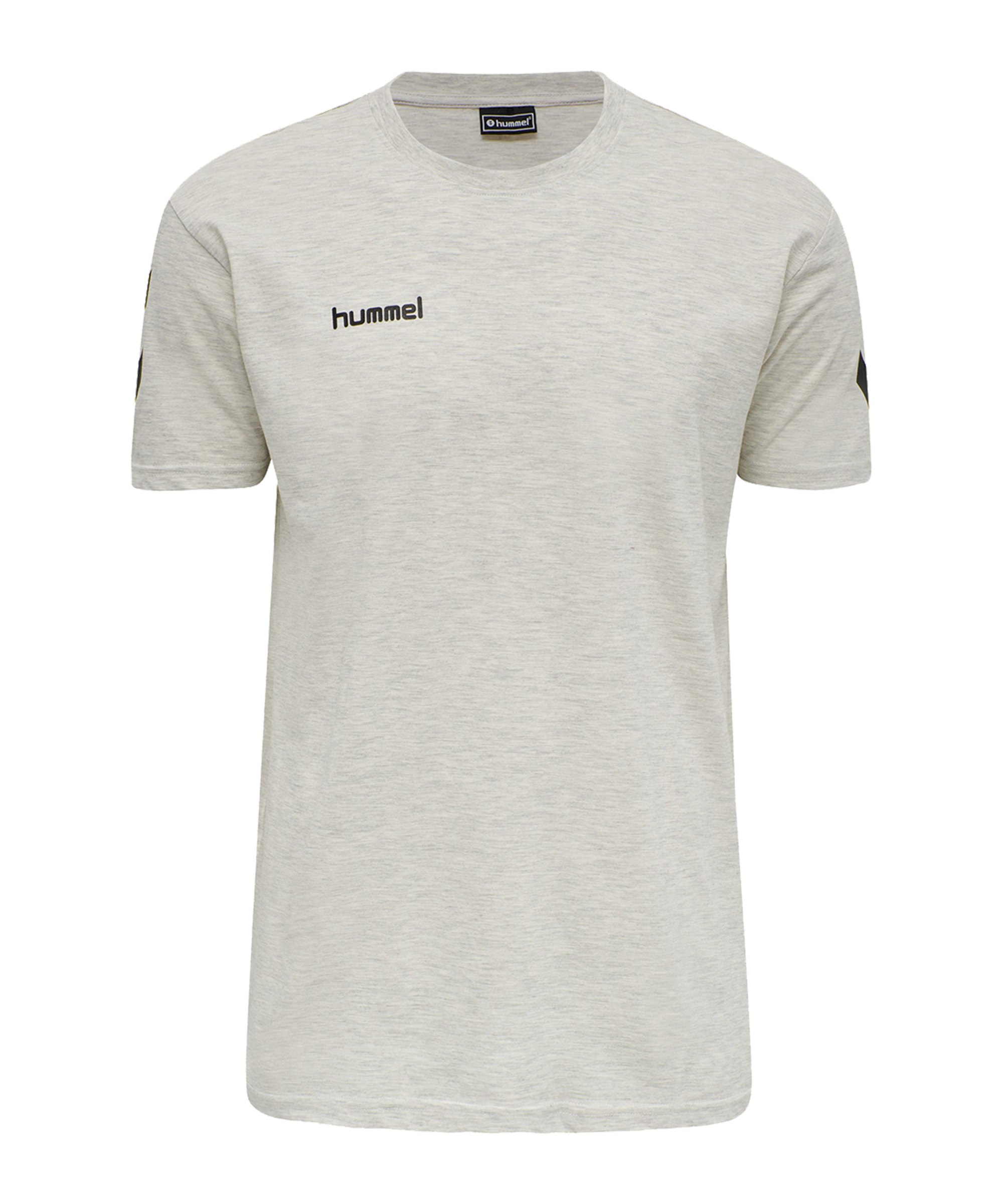Hummel Cotton T-Shirt Beige F9158 - beige