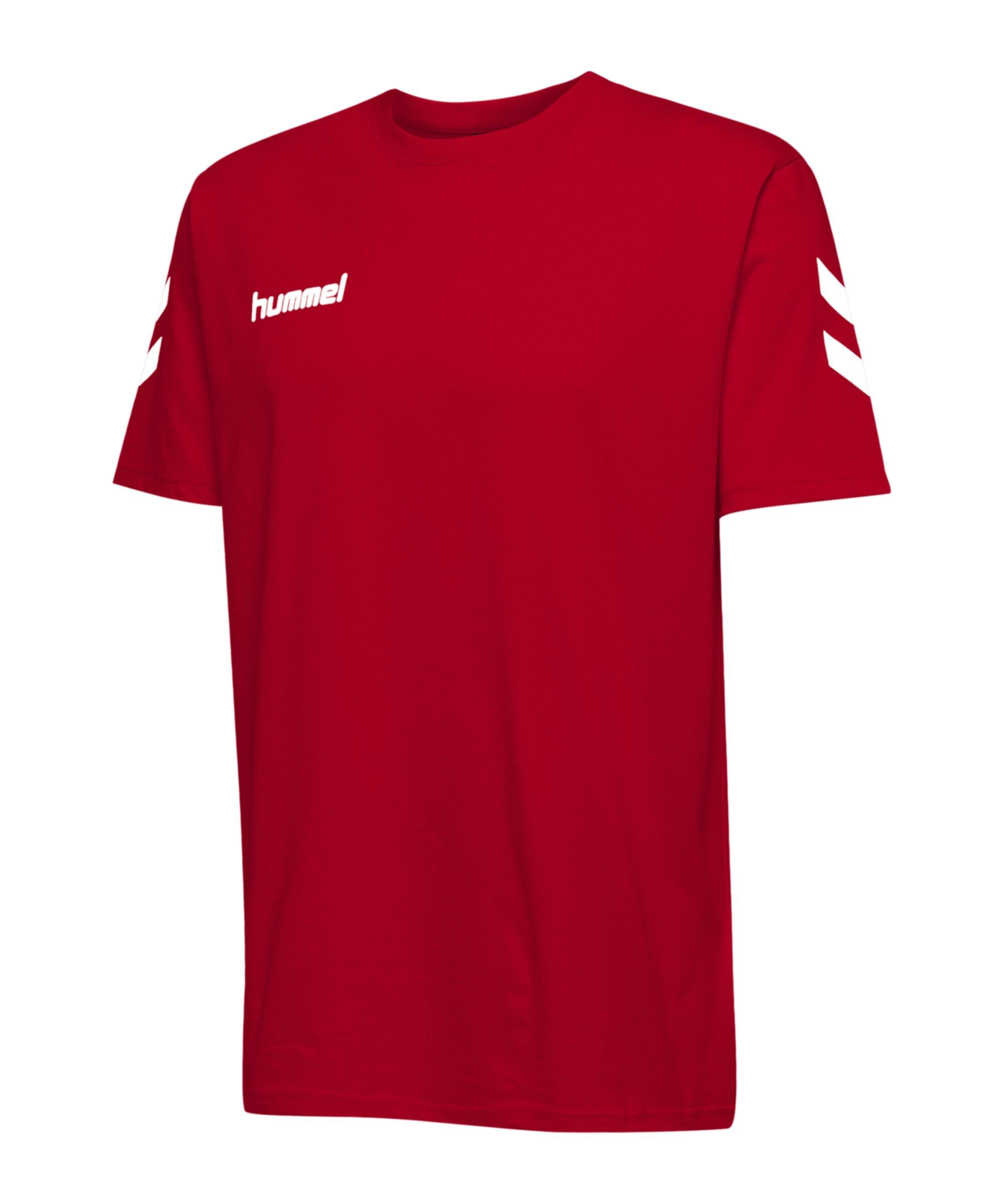 Hummel Cotton T-Shirt Rot F3062 - Rot