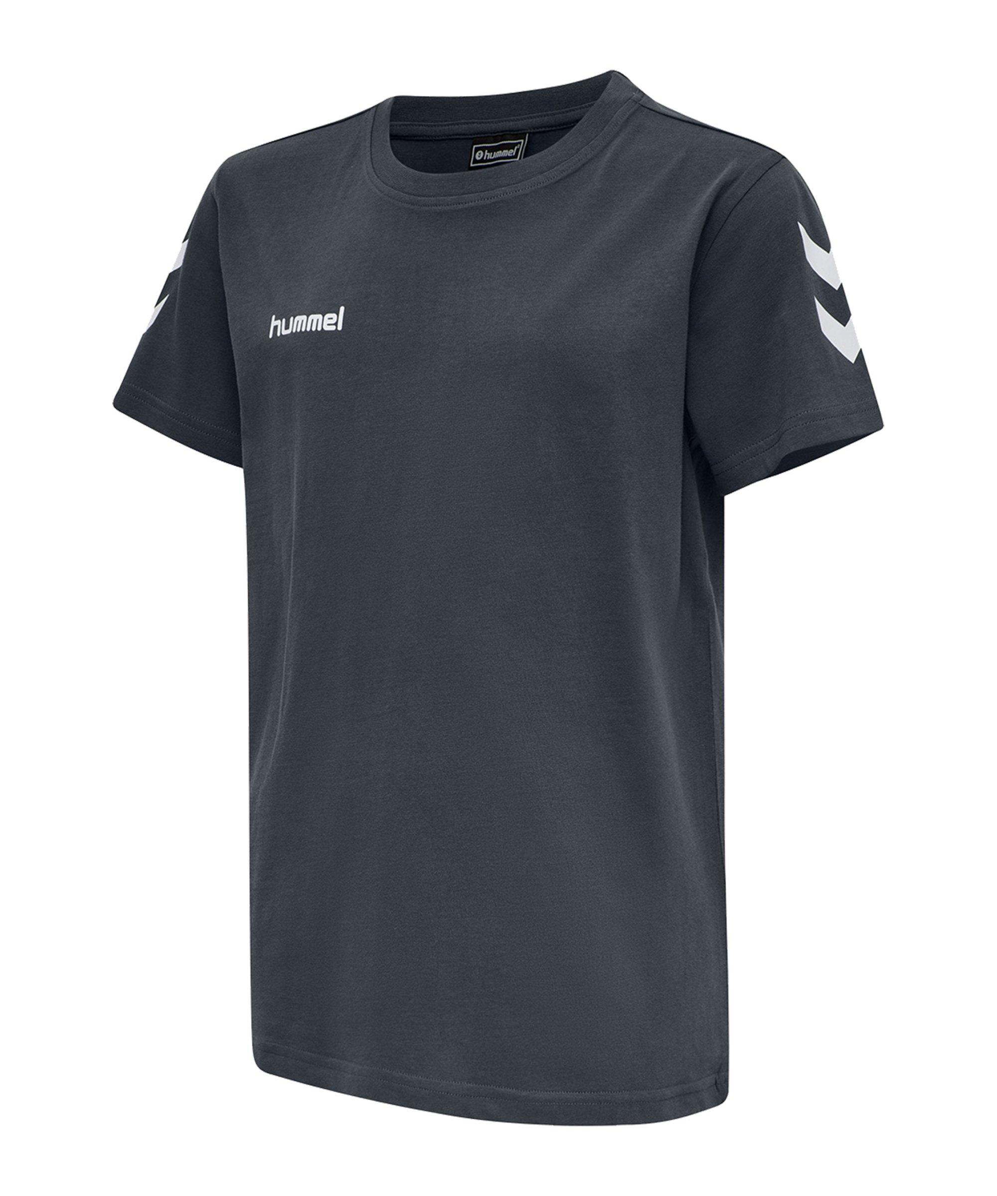 Hummel Cotton T-Shirt Kids Grau F8571 - grau