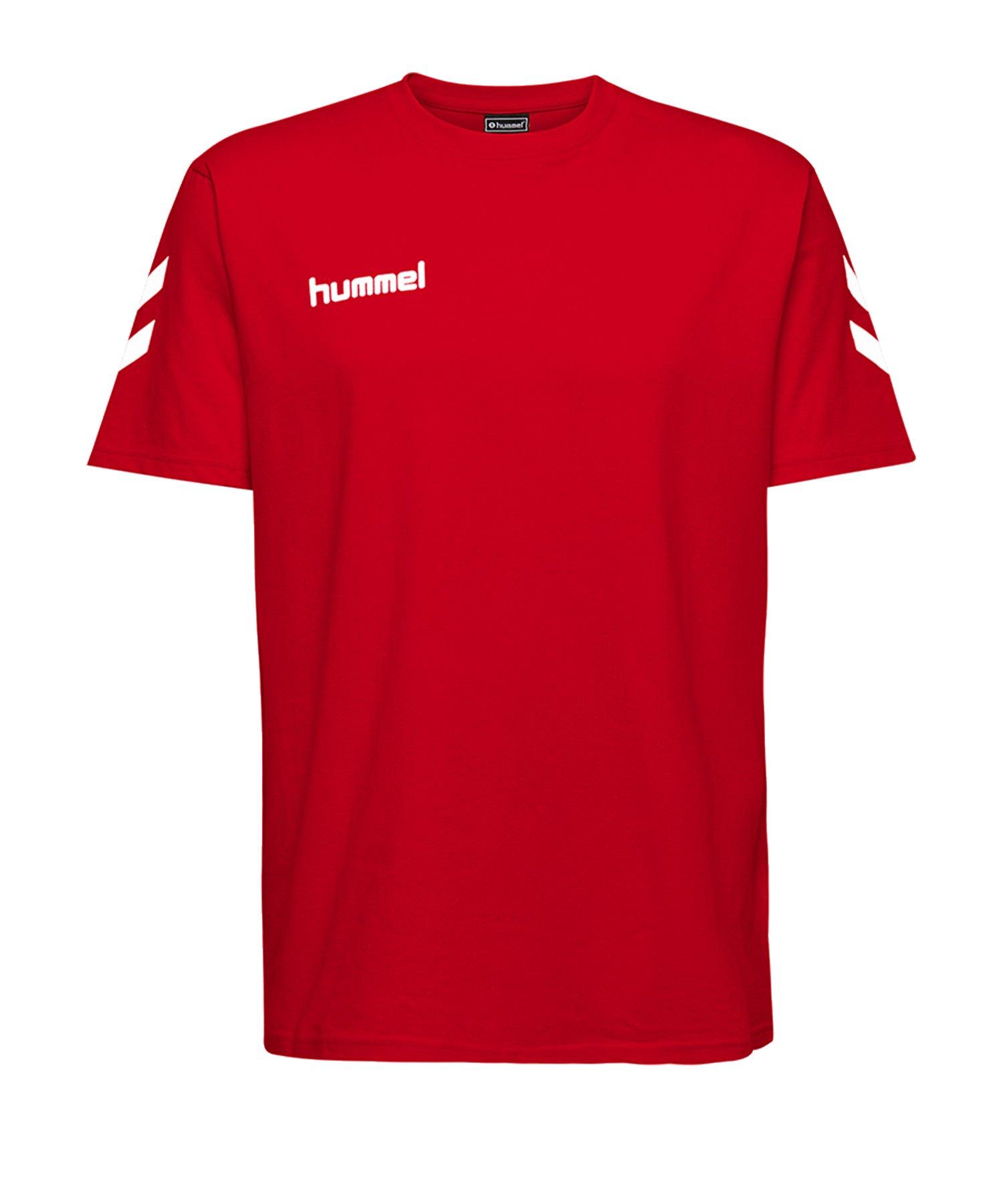 Hummel Cotton T-Shirt Kids Rot F3062 - Rot