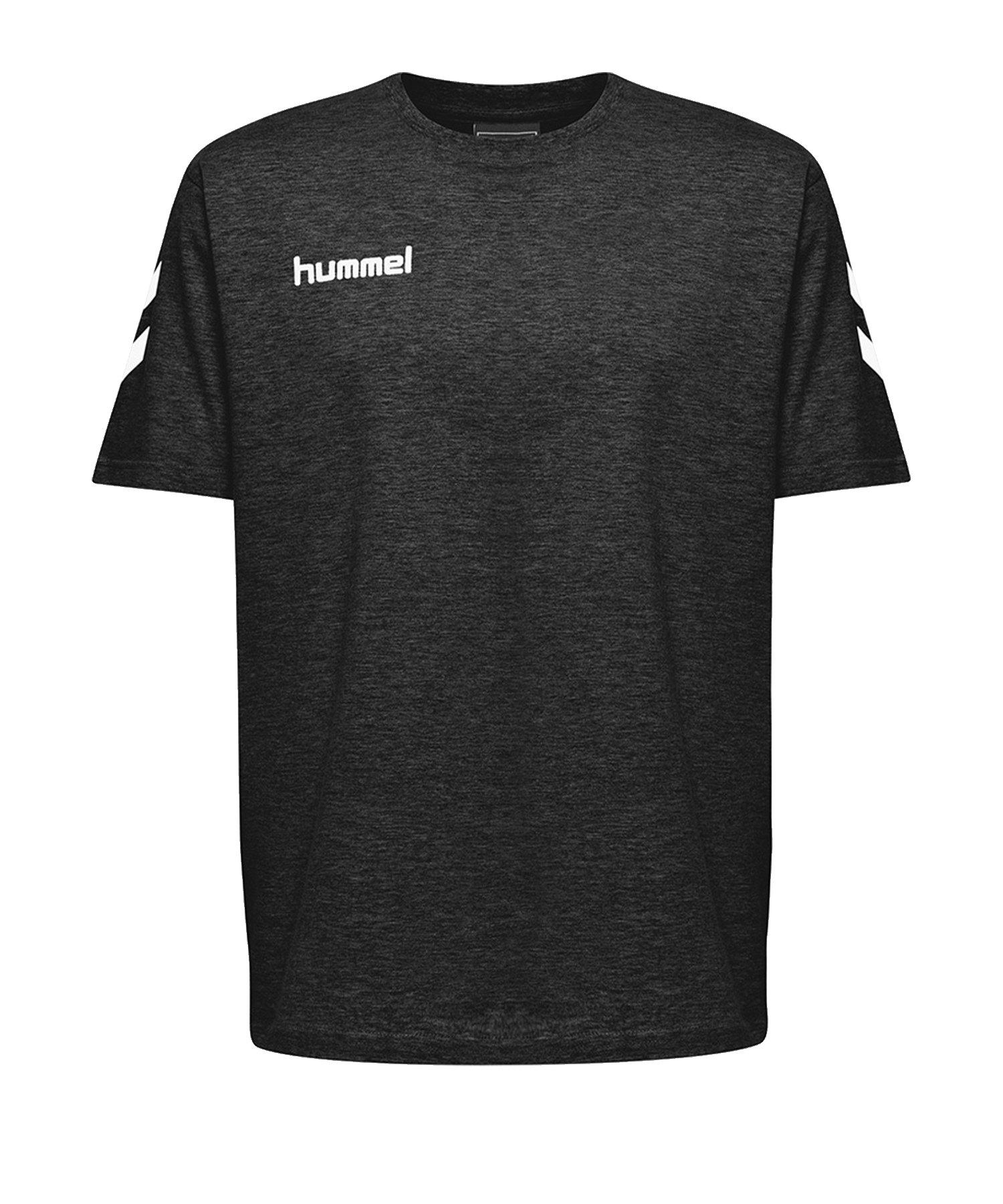 Hummel Cotton T-Shirt Kids Schwarz F2001 - Schwarz