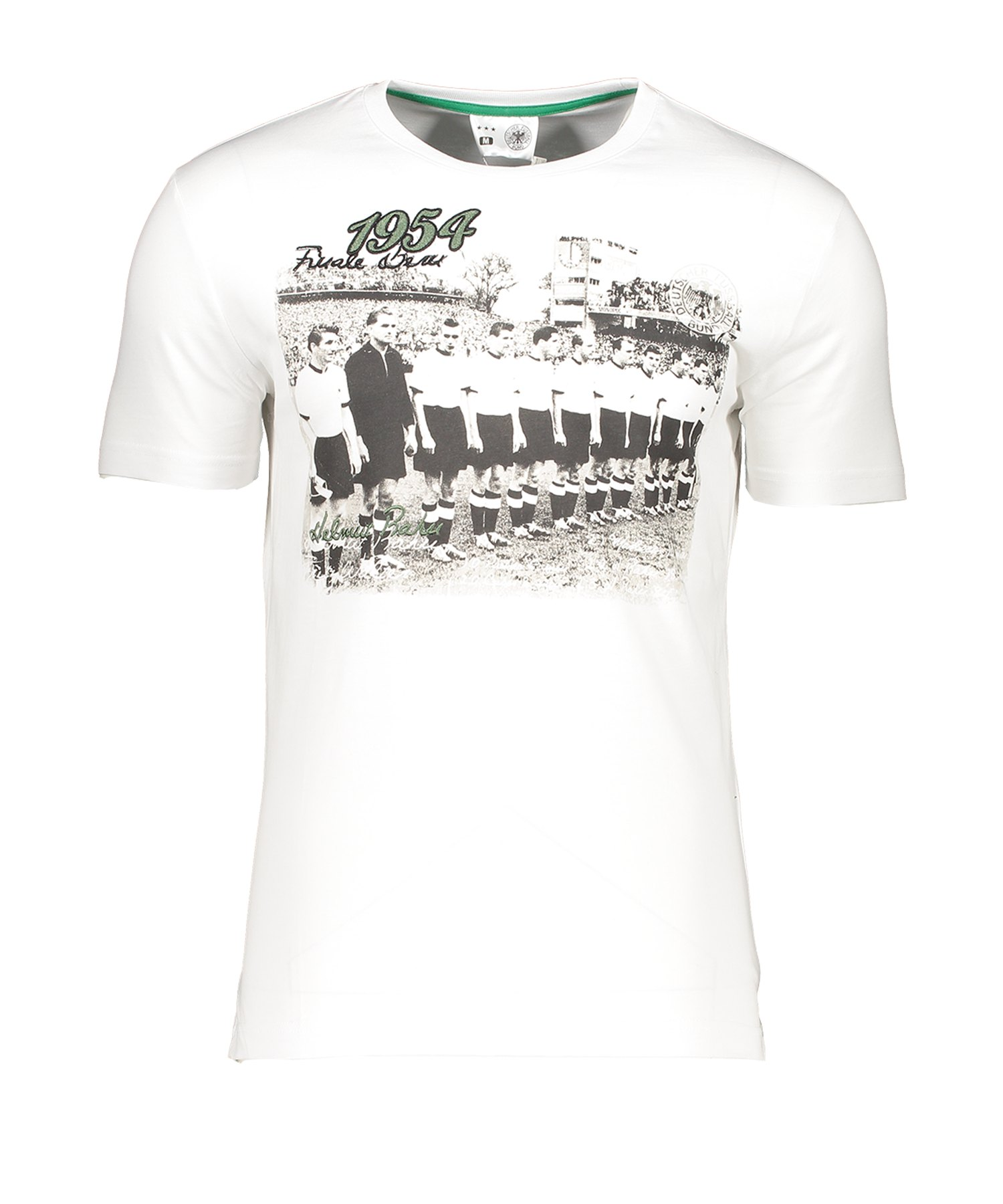 DFB Deutschland T-Shirt 1954 S - Weiss