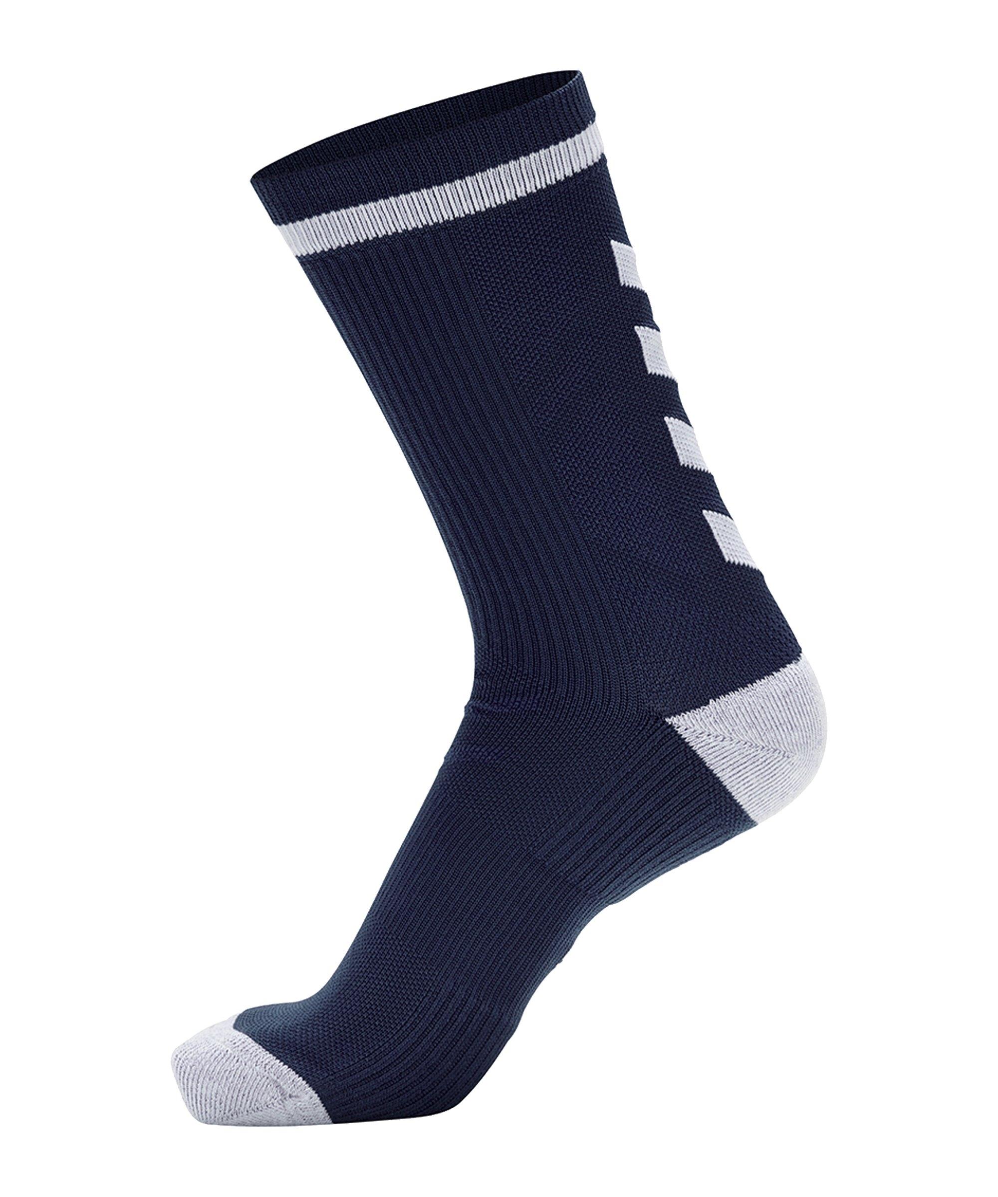 Hummel Elite Indoor Sock Low Socken Blau F7172 - blau