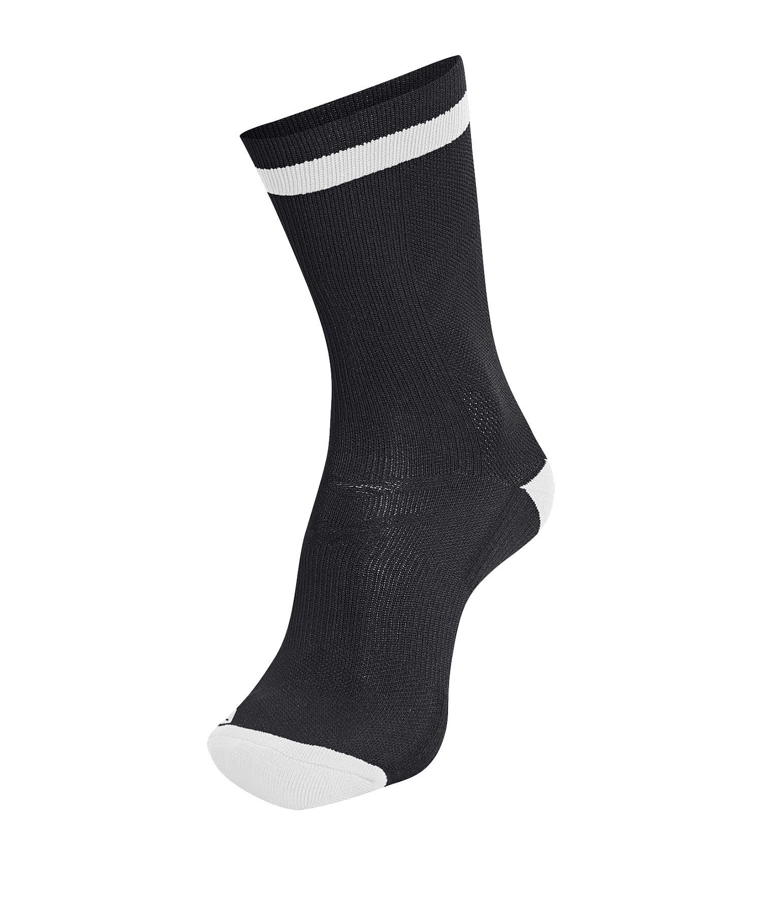 Hummel Elite Indoor Sock Low Socken Schwarz F2114 - Schwarz