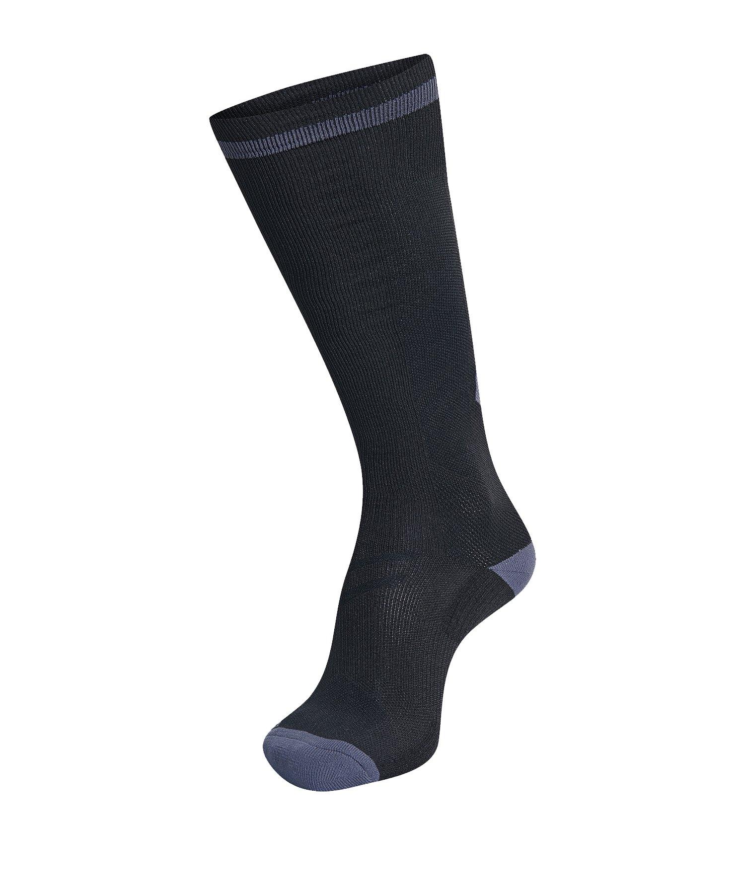 Hummel Elite Indoor Sock High Socken Schwarz F1006 - Schwarz
